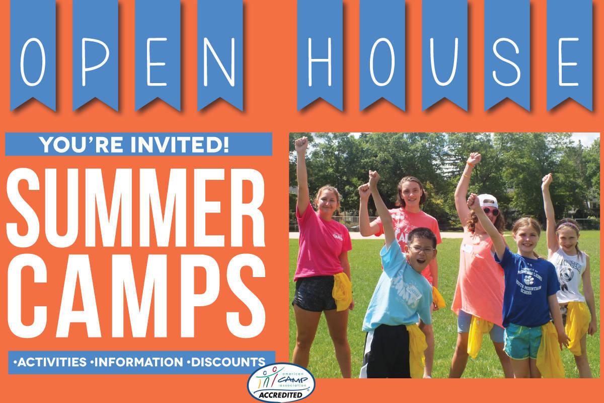 Summer camp open house tapinto for Open house photos