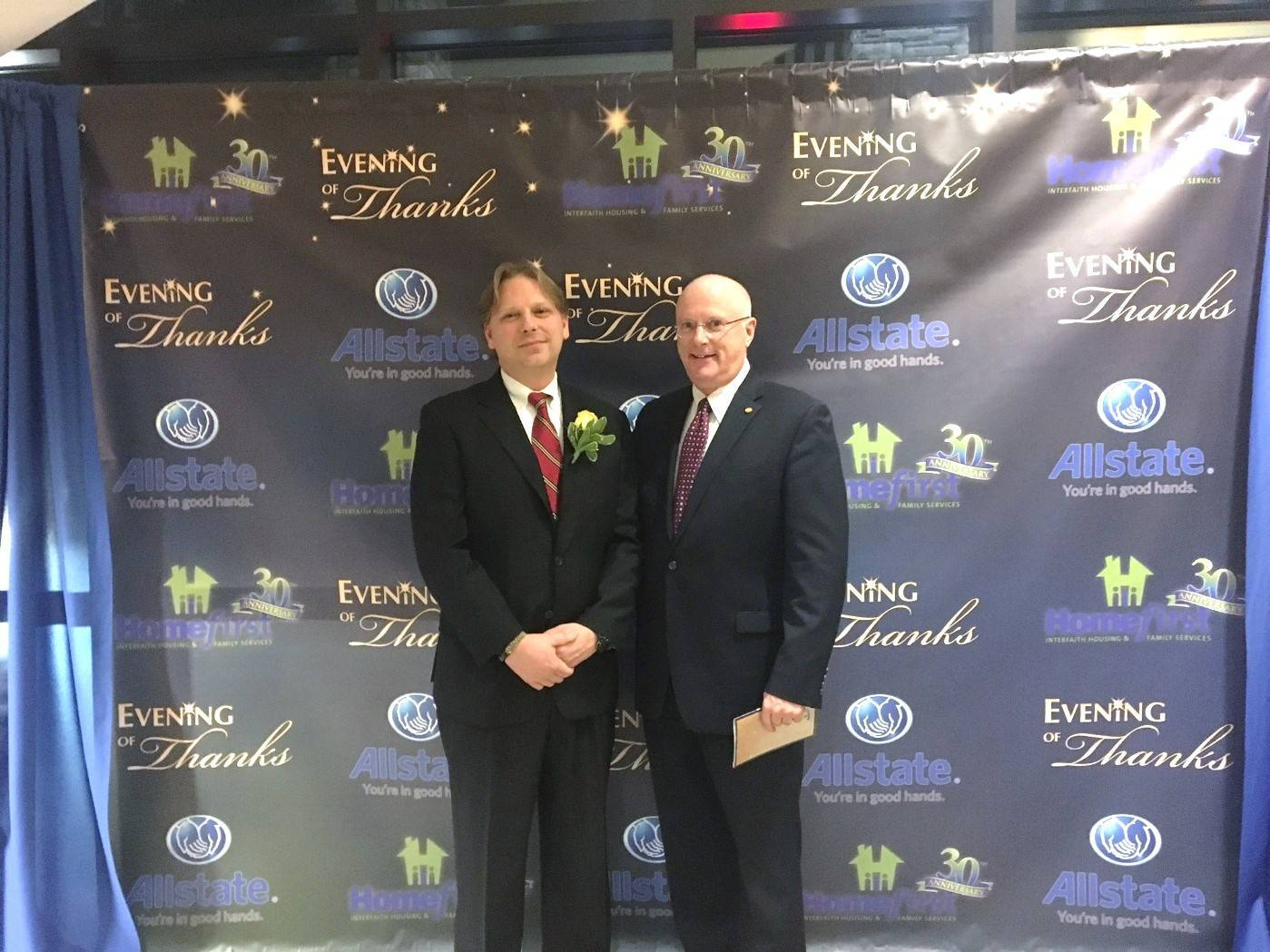 Scotch Plains Allstate Agent Nelson Espeland Honored at Homefirst Evening of Thanks