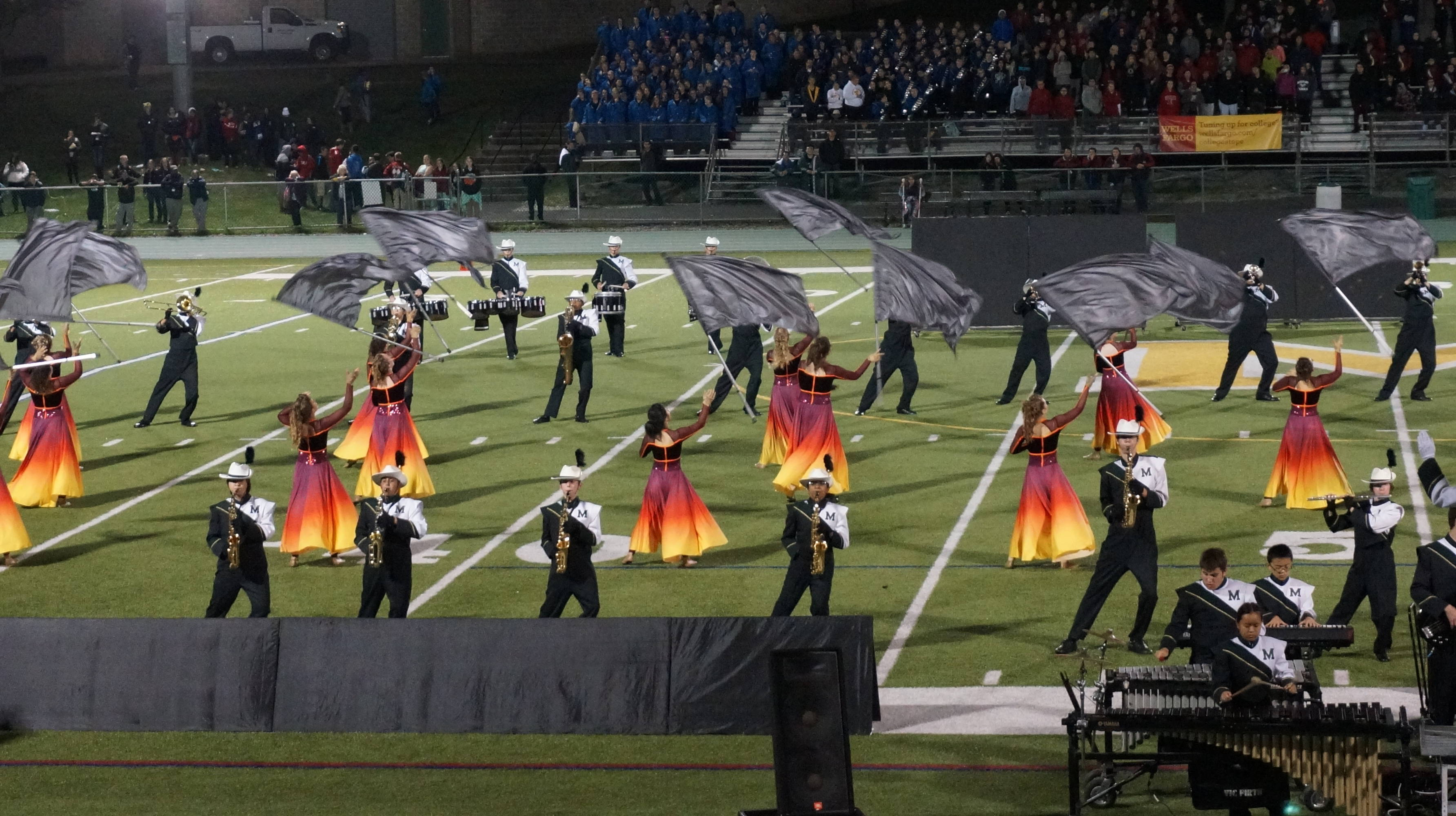 Montville High School Marching Band Hosts Competition