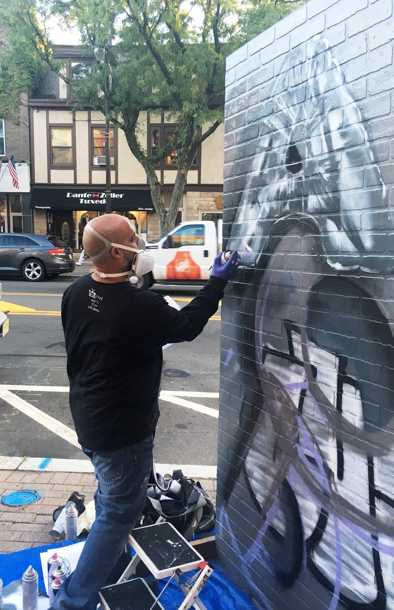 Sanctioned Graffiti Goes Mainstream in Downtown Somerville
