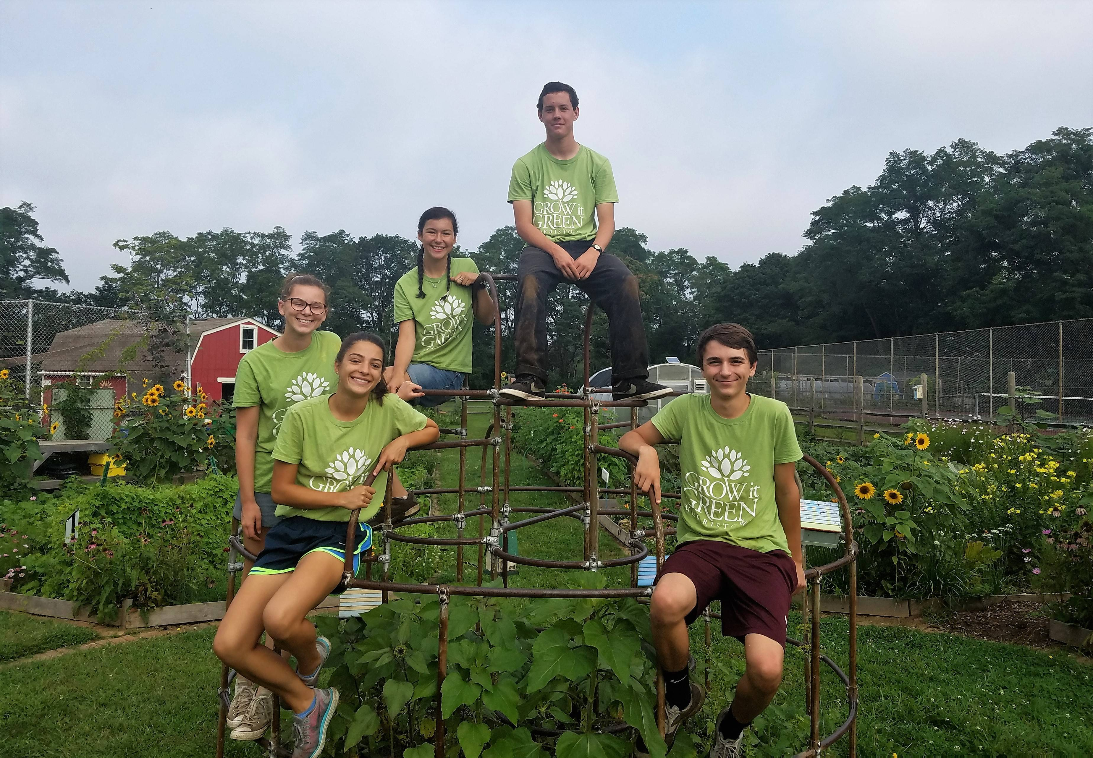 current and former morristown high school students spend summer