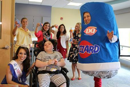 Buy a Blizzard, help support the Children's Miracle Network