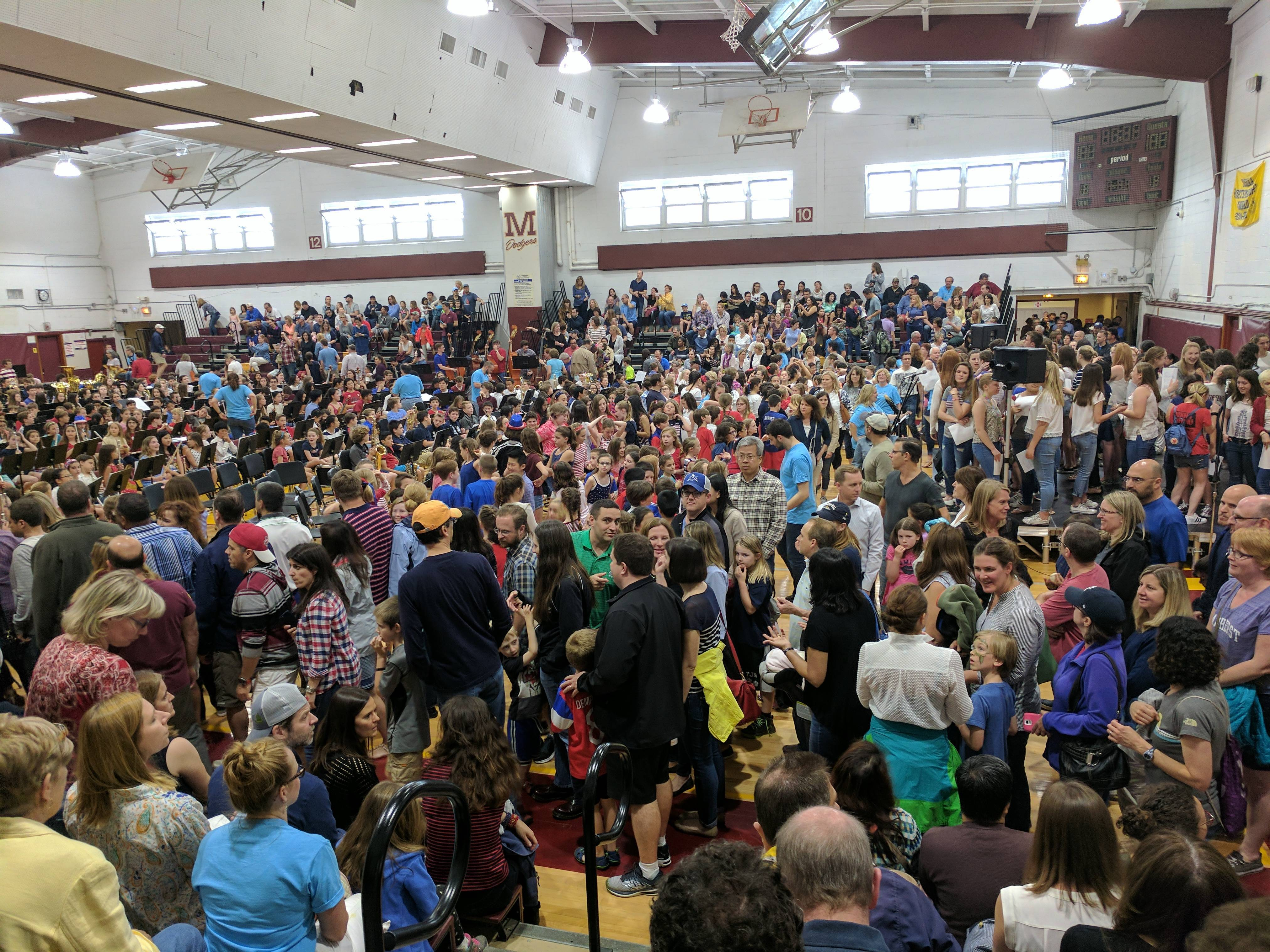 Mega MusicPalooza Returns to Madison High School - News ... Crowded High School Cafeteria