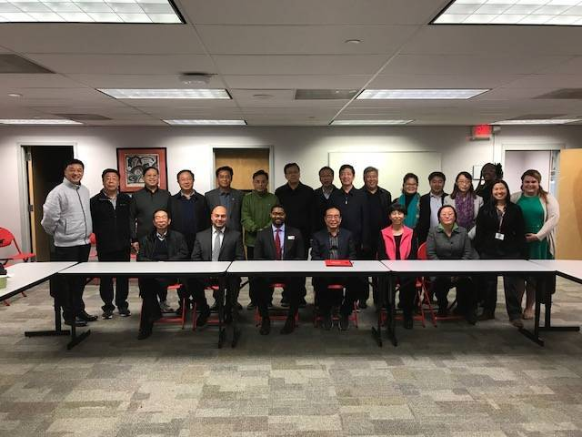 Education Leaders From China Visit Union County College