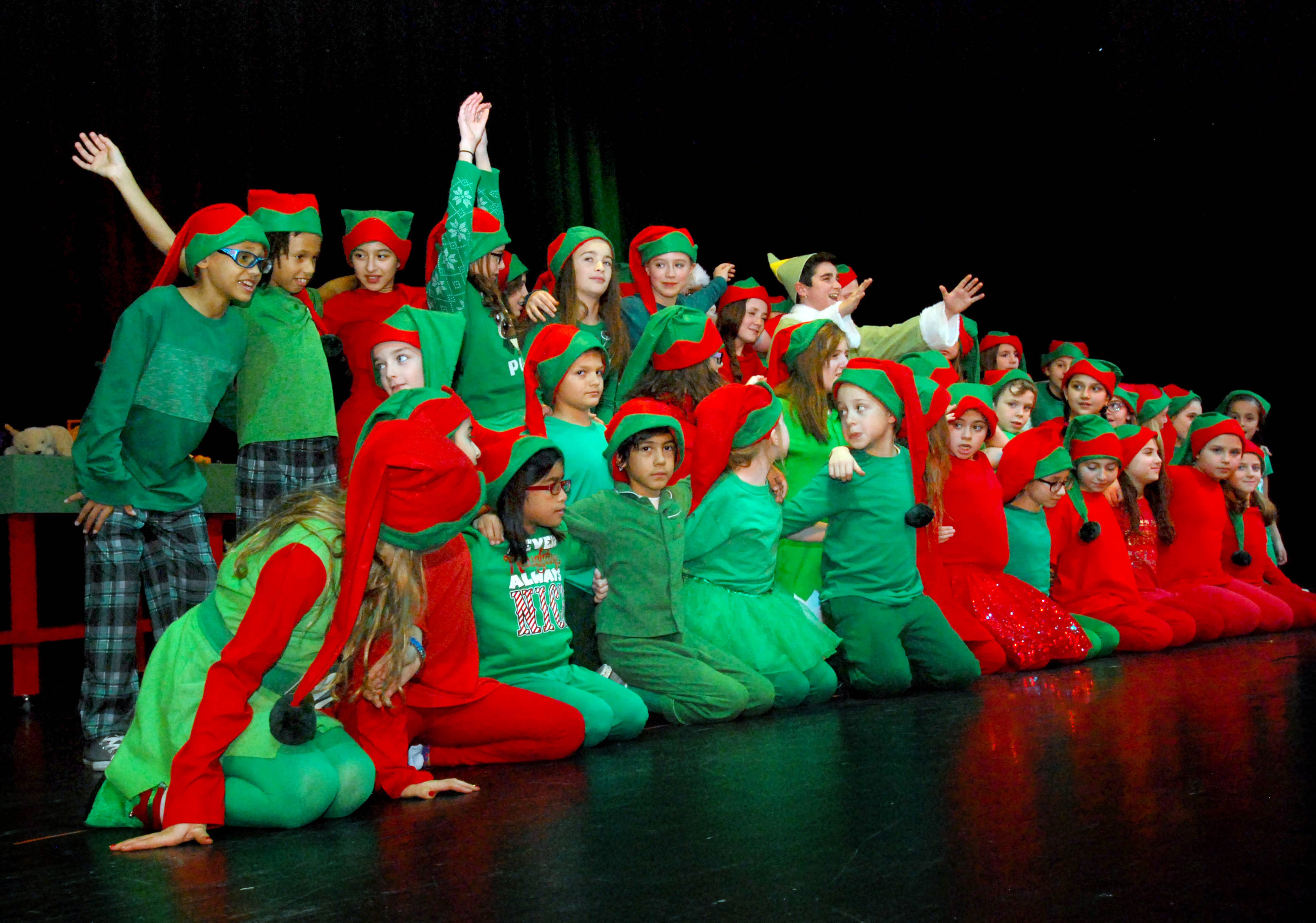 Elf Jr The Musical Opens Tonight In Nutley News Tapinto