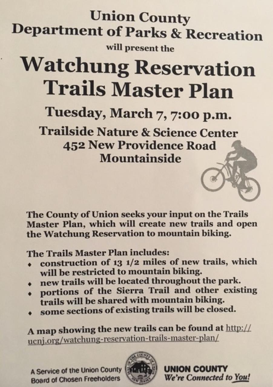 Watchung Reservation Trails Master Plan | TAPinto on