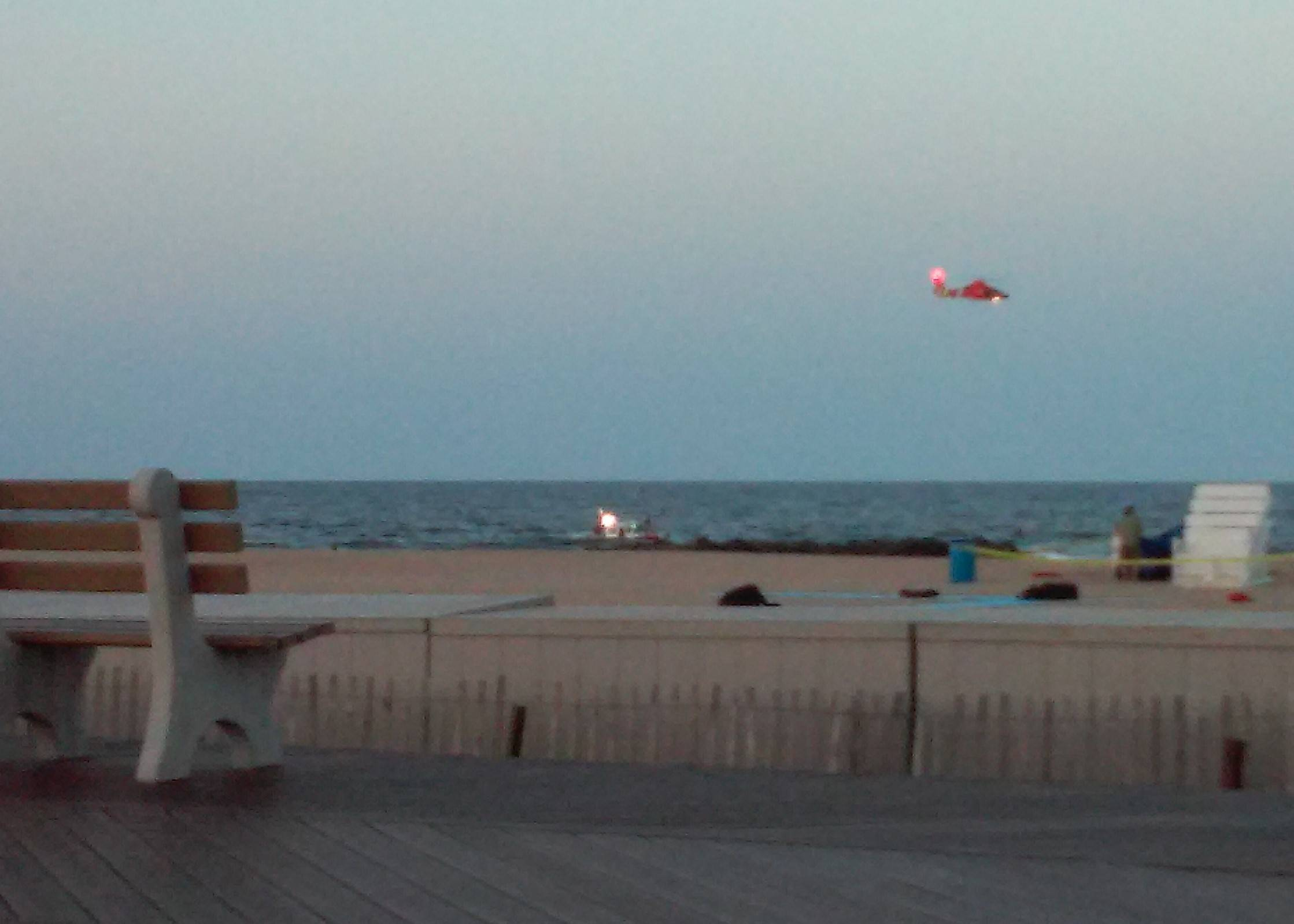 Rip currents leave 1 dead, 2 missing at Jersey shore