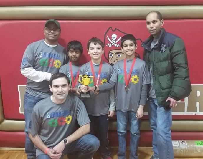 Livingston Robotics Club Team Wins at State Championship