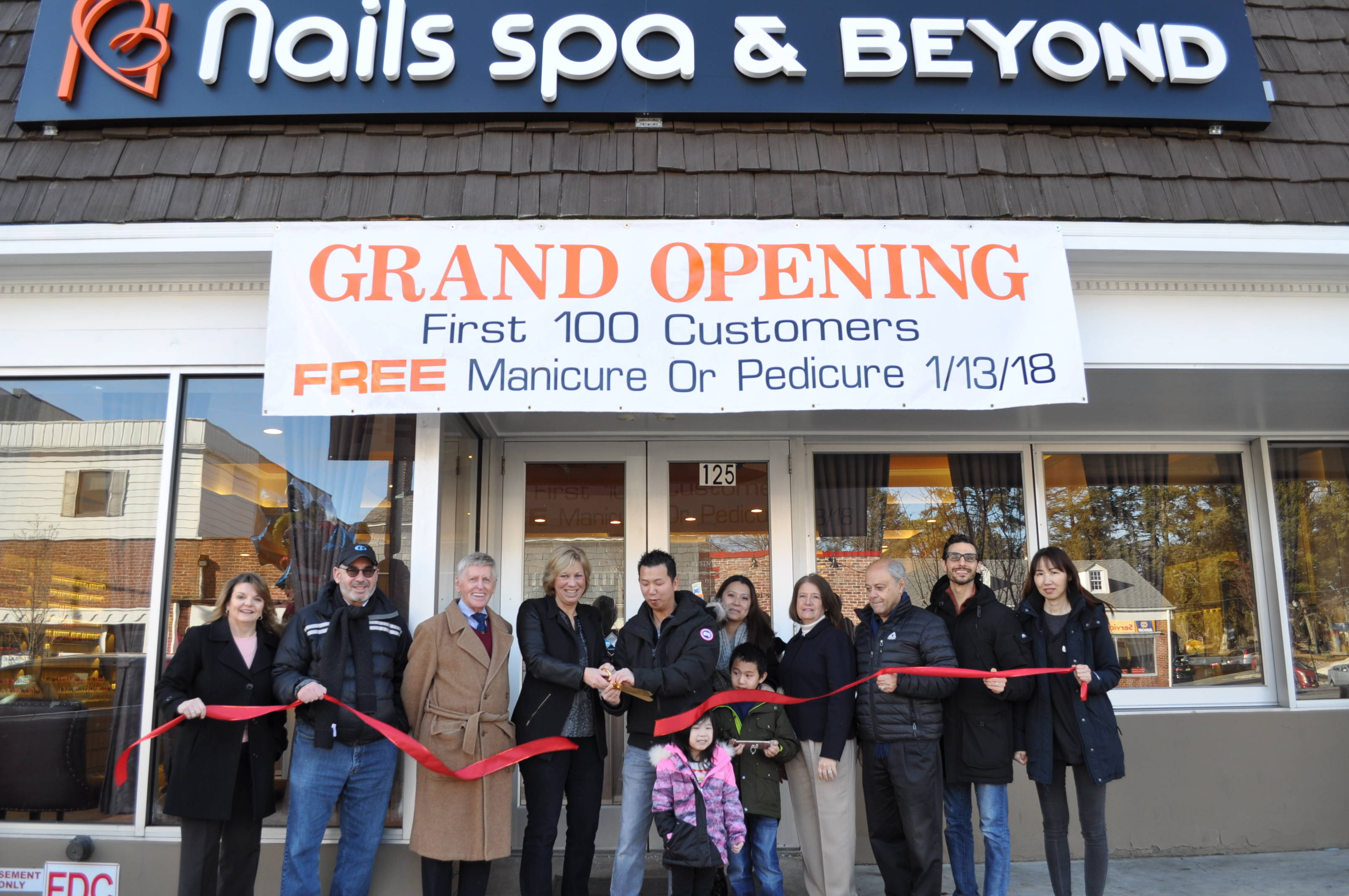 Nails Spa & Beyond Opens in Downtown Westfield - News - TAPinto