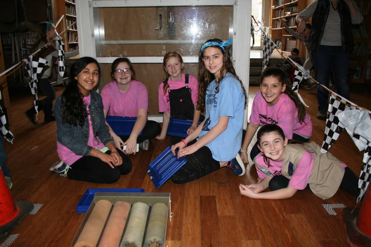 Girls Scouts of Cranford Hosts Fourth Annual Pinewood Derby