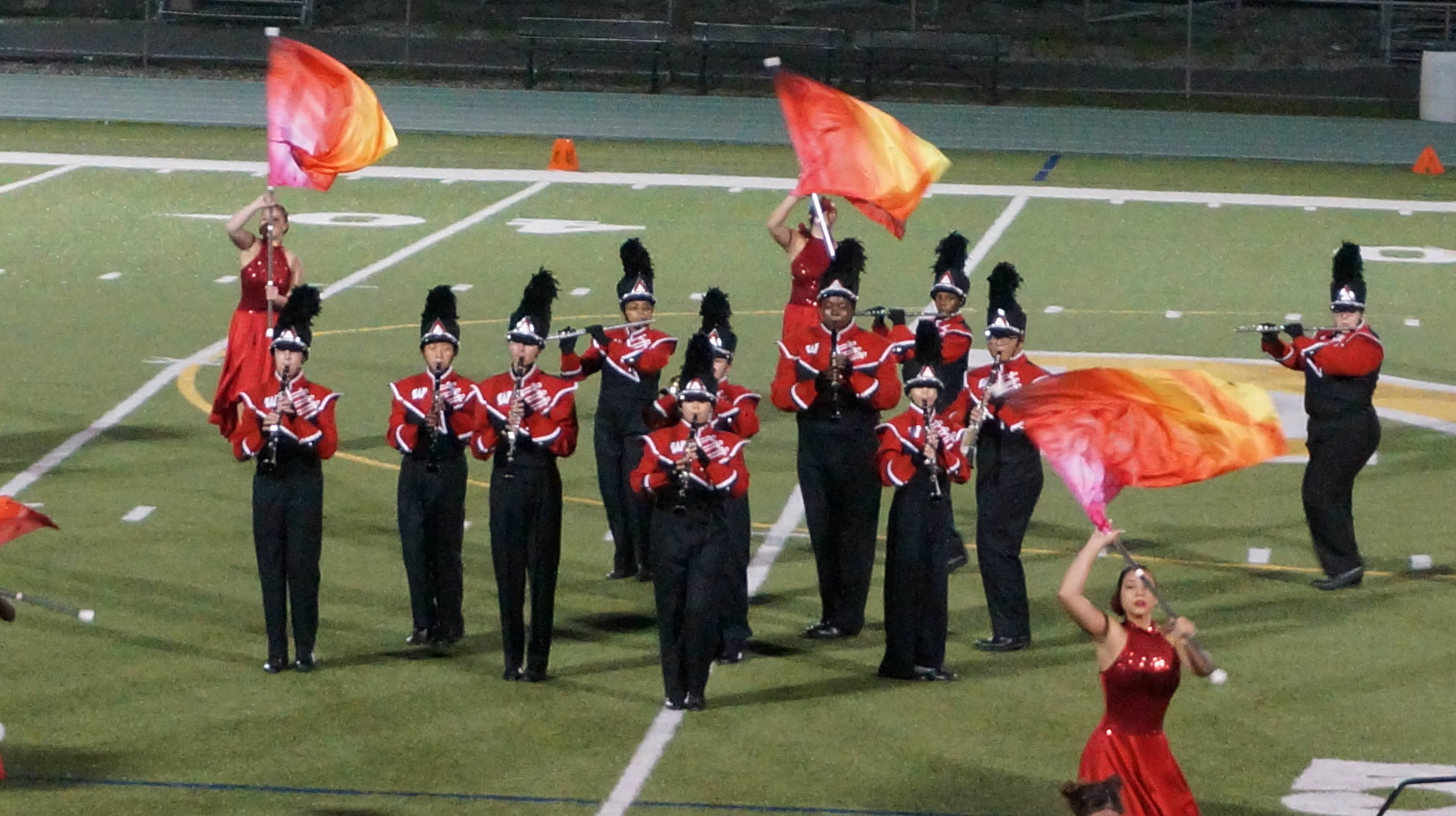 Articles about color guard - Woodbridge High School Woodbridge Nj Credits Melissa Benno