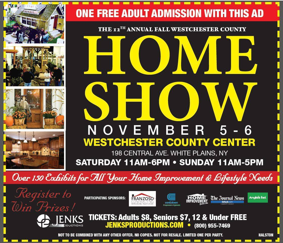 12th annual fall westchester county home show tapinto