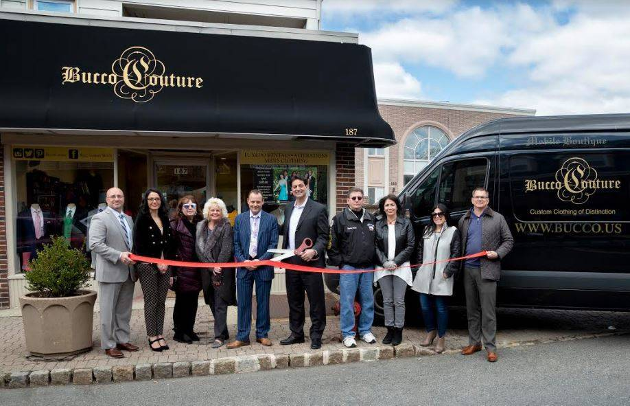 Nutley chamber of commerce welcomes bucco couture news for Chamber of couture