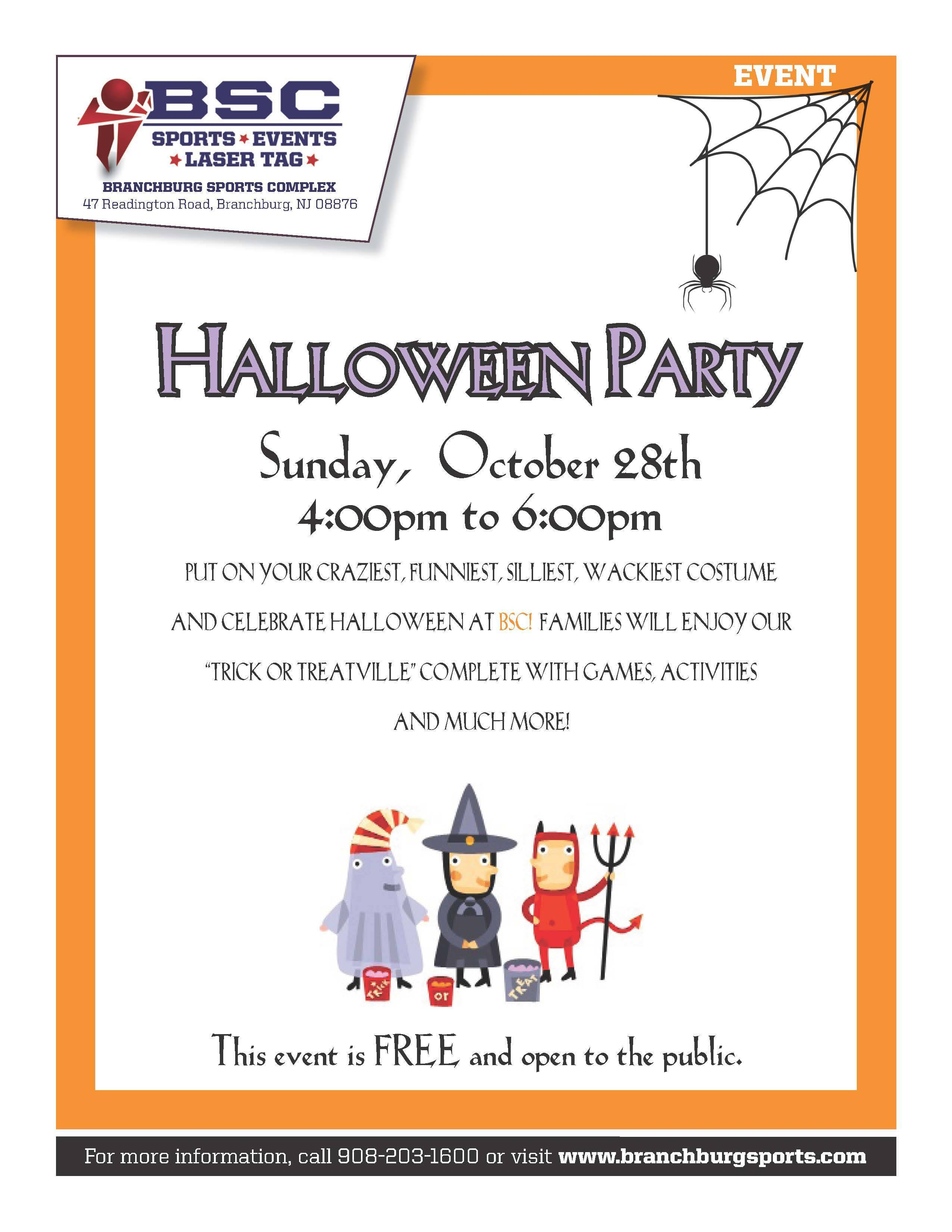 Branchburg Sports Halloween Party Tapinto