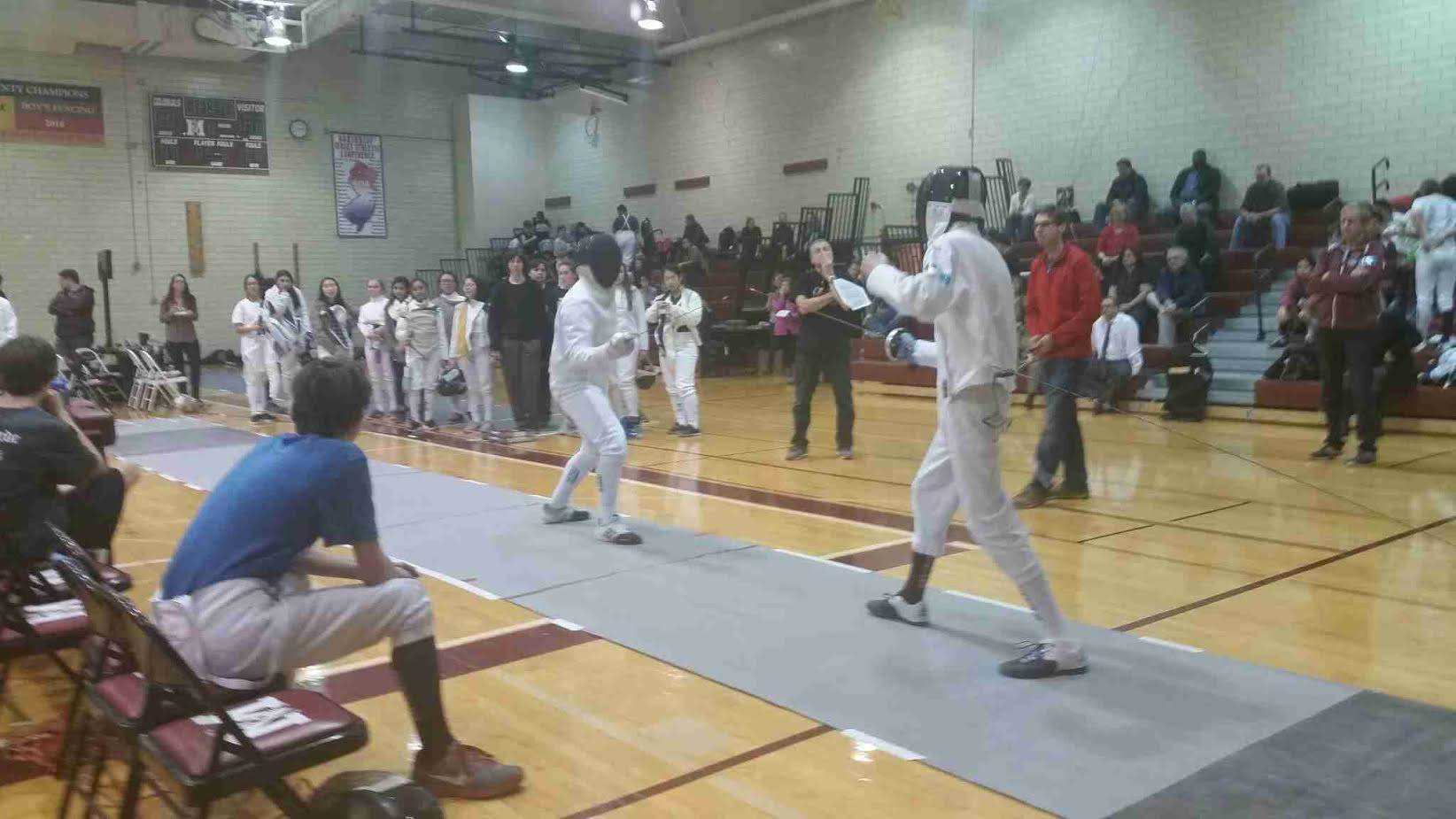 Morristown high school fencing has quot hearts for hedda