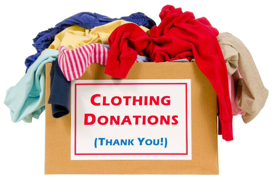 Clothing drive to benefit woodland park elementary school for Shirts that donate to charity