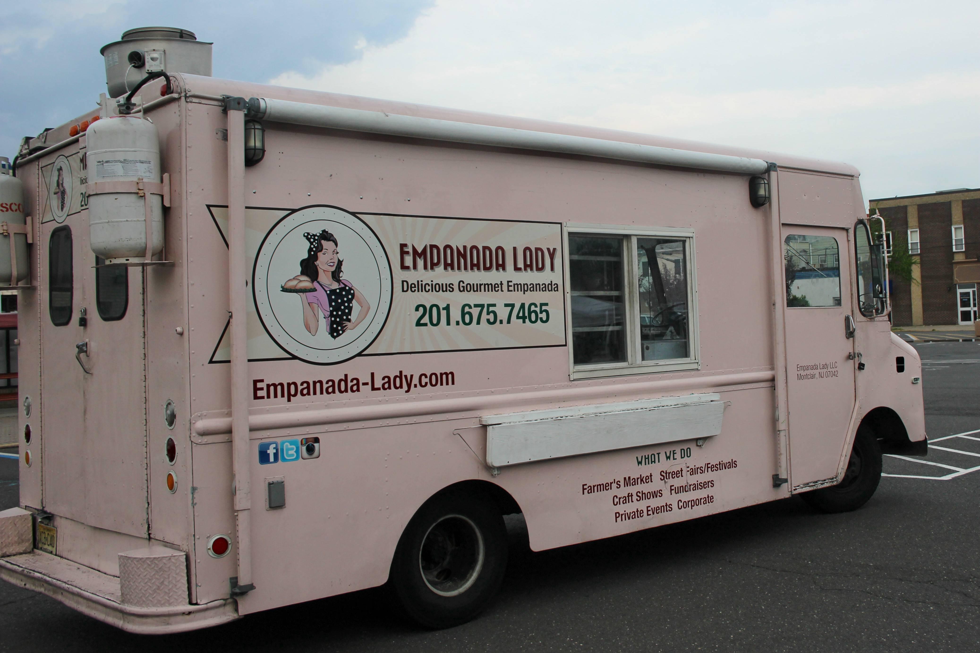 empanada food truck nj food. Black Bedroom Furniture Sets. Home Design Ideas