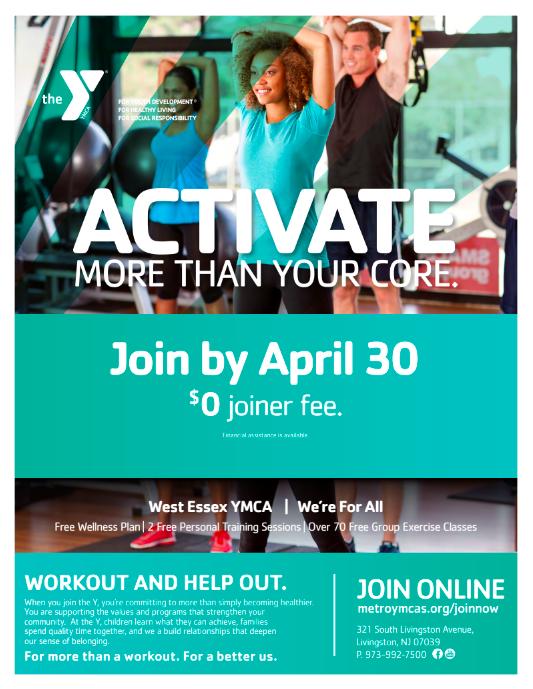 YMCA $0 Enrollment in April - TAPinto
