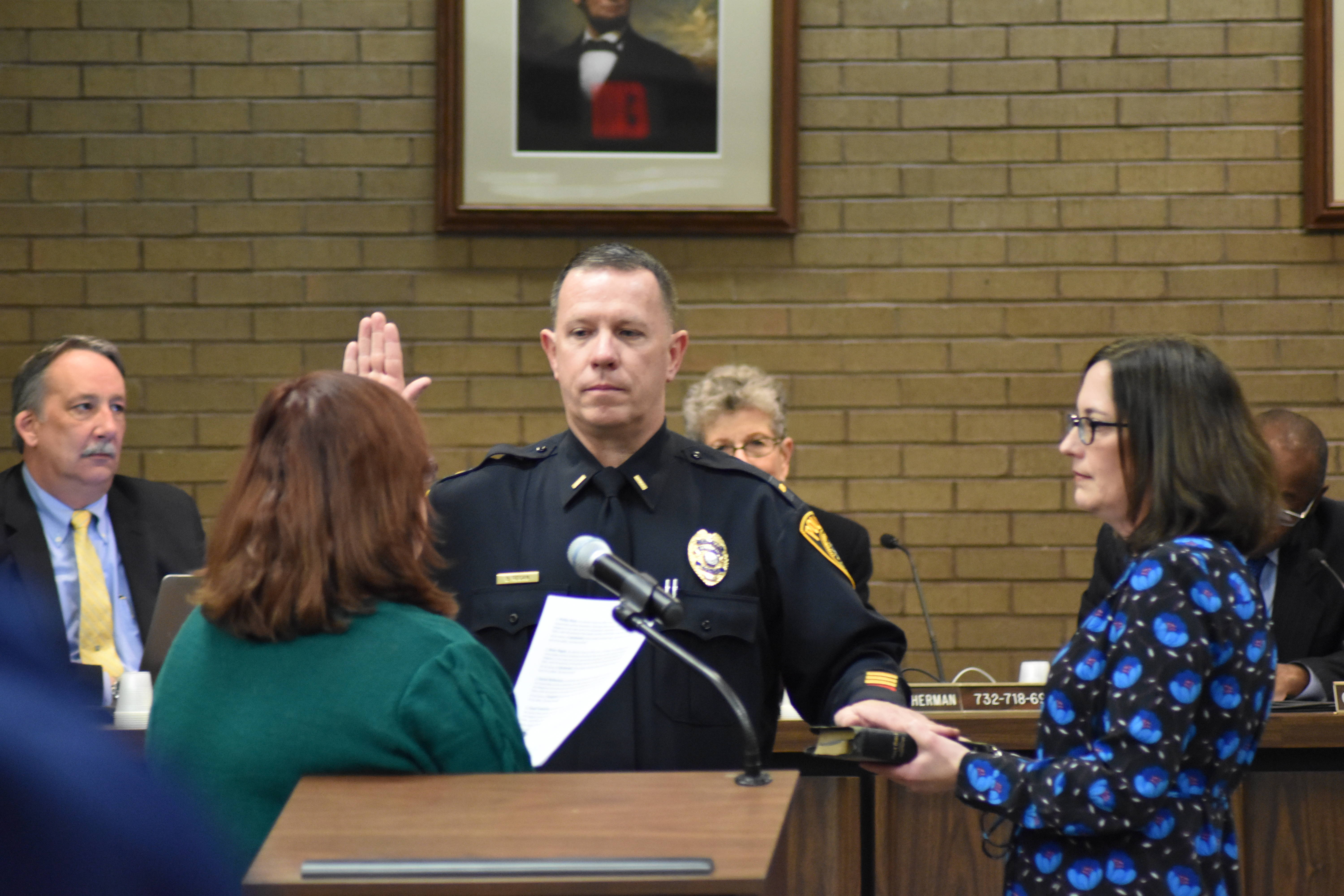 Franklin Township: Oaths of Office And Police Promotions At This ...