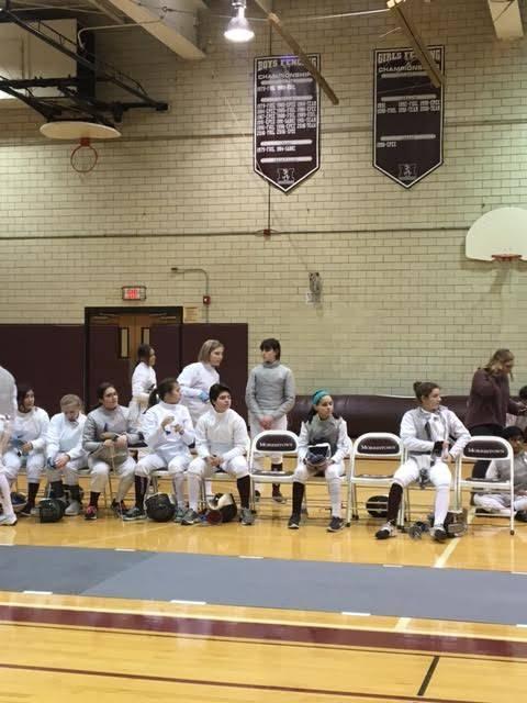 Morristown high school girls fencing defeats ramapo