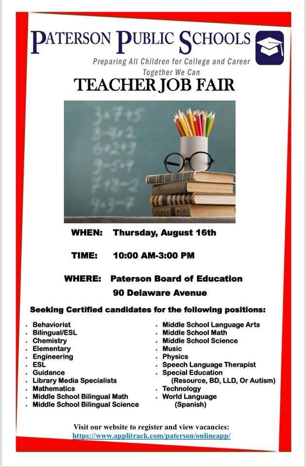 Teacher Job Fair Tapinto