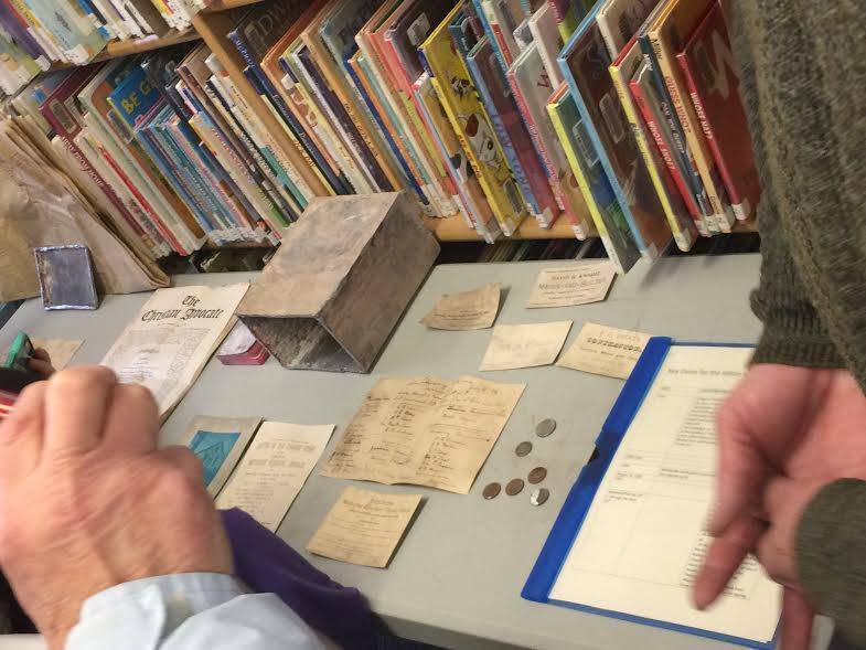 Contents Revealed of Maplewood Time Capsule from 1800s