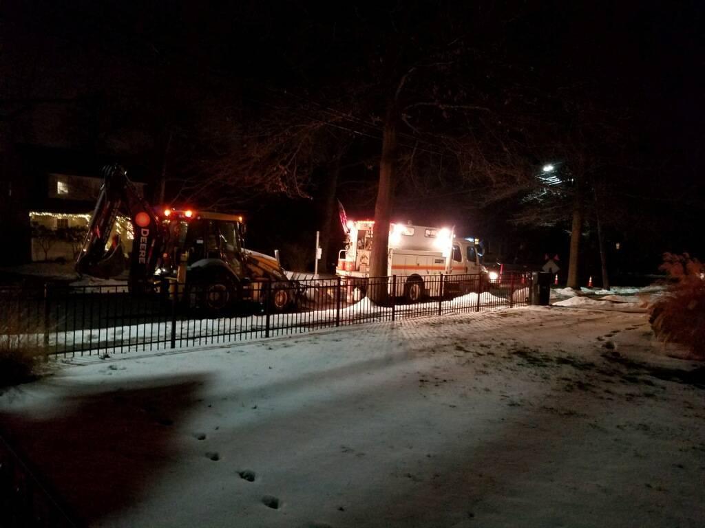 Emergency Gas Line Repair On Leland Ave Near Cook School Plainfield Nj News Tapinto