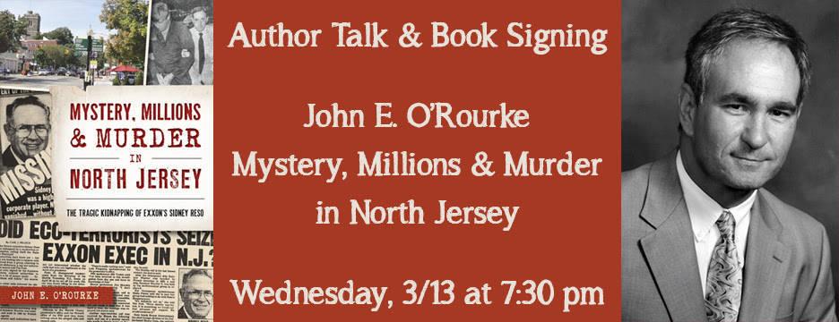 Author Talk: John E  O'Rourke | TAPinto