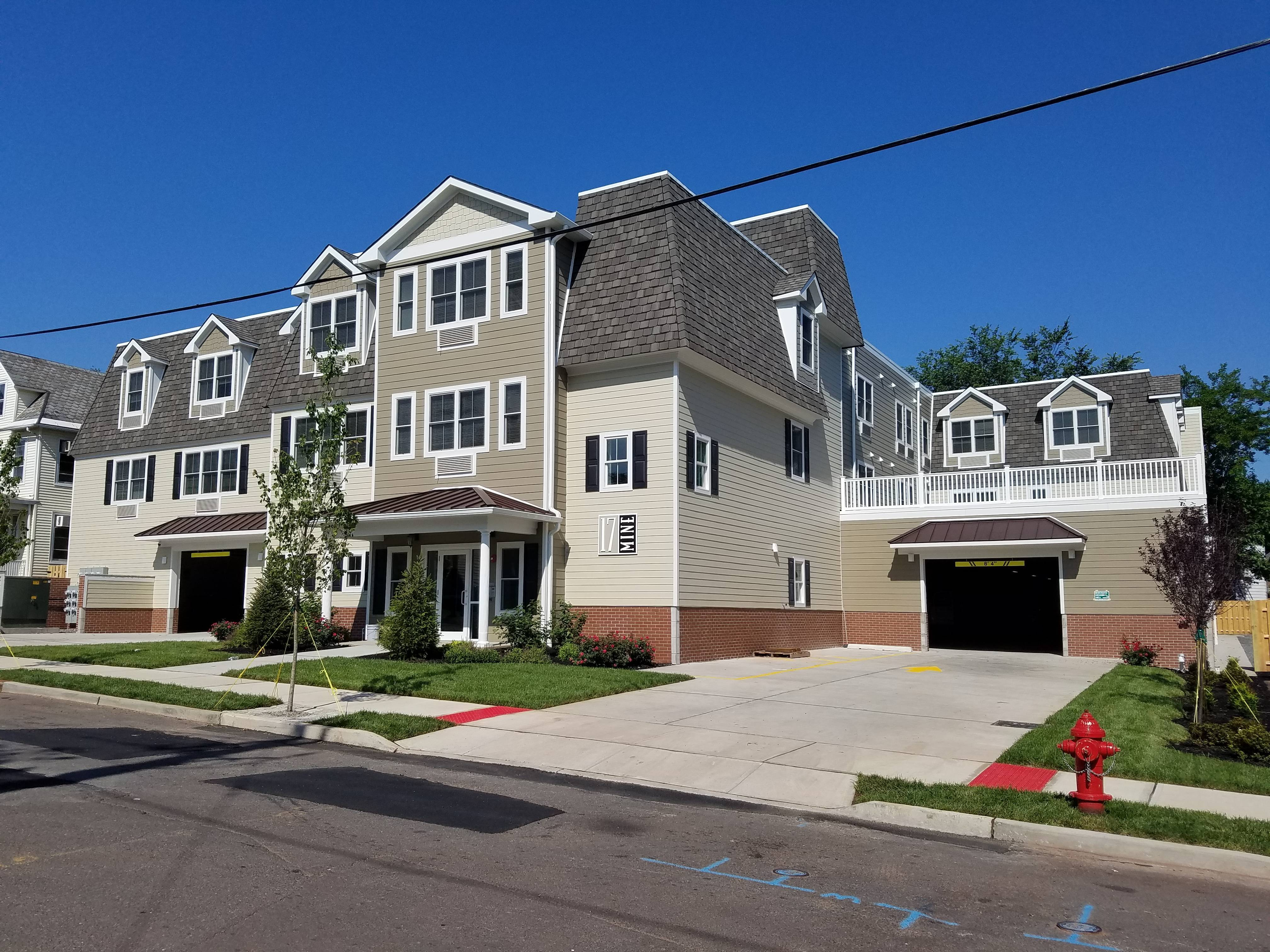 modern apartments now serve rutgers and seminary students on new