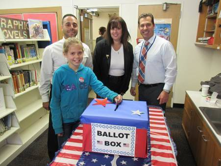 Active Citizenship Practiced Early at Westfield Tamaques ...