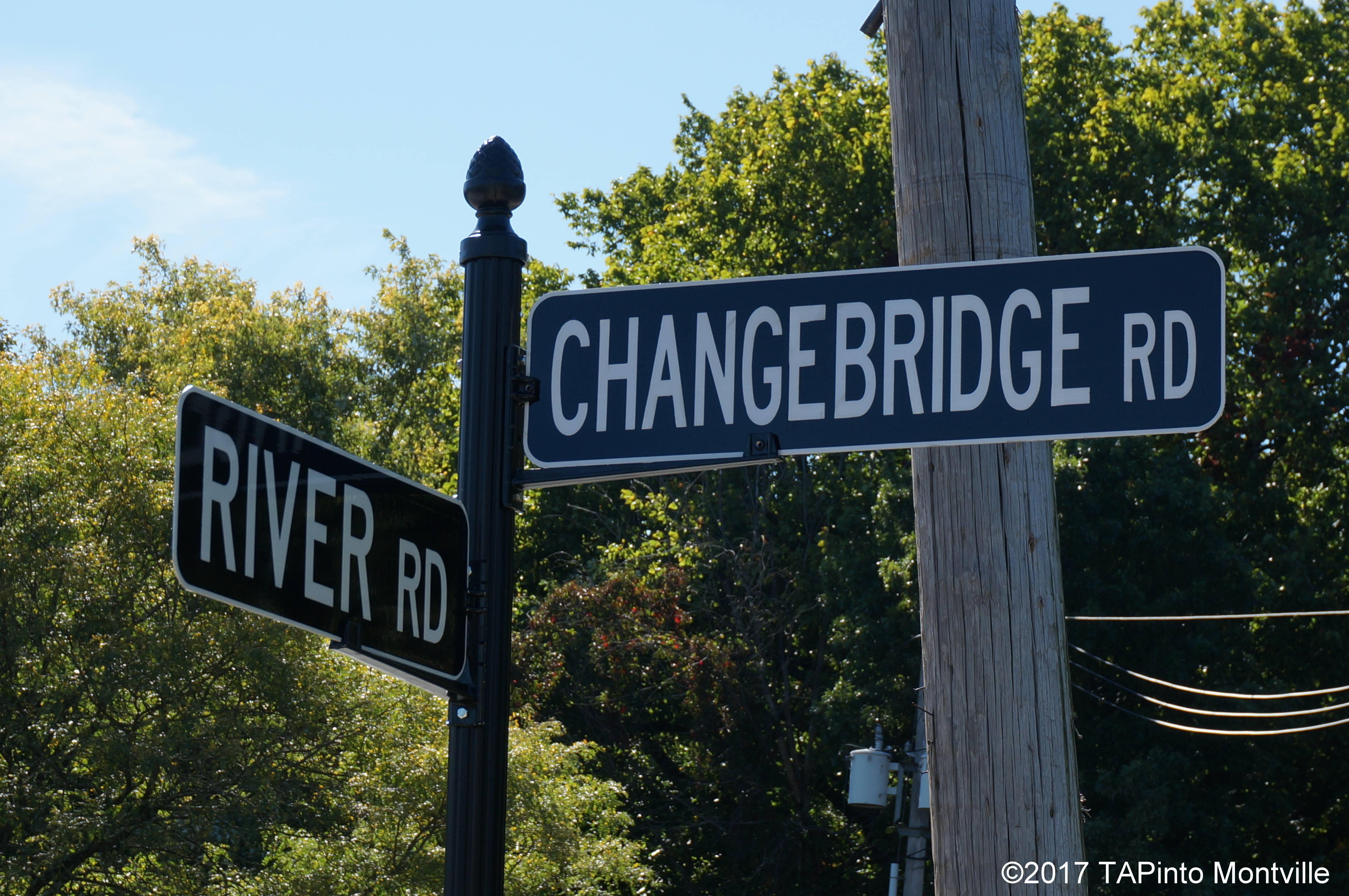thirty streetname signs replaced across montville