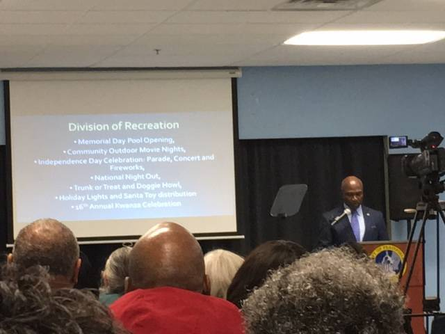 Plainfield Mayor Adrian Mapp Delivers 2017 State of the City Address