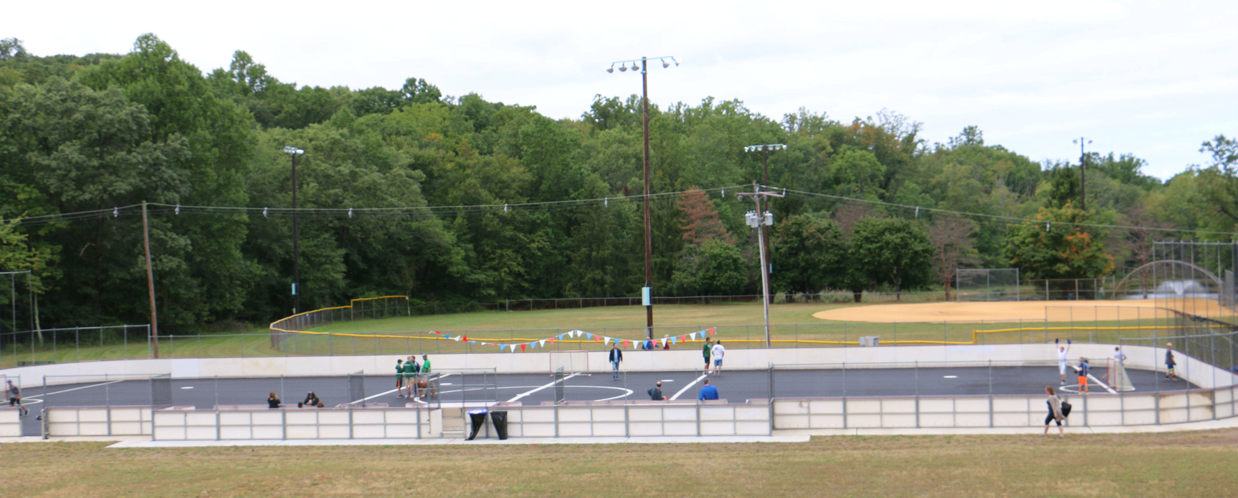 Roller skating rink kendall park nj - Montville Township S New Roller And Street Hockey Rink Located At Masar Park Officially Opened On Sept 24 Credits Hope White