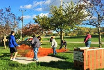 Olean Scout Completes Project For Children S Memorial