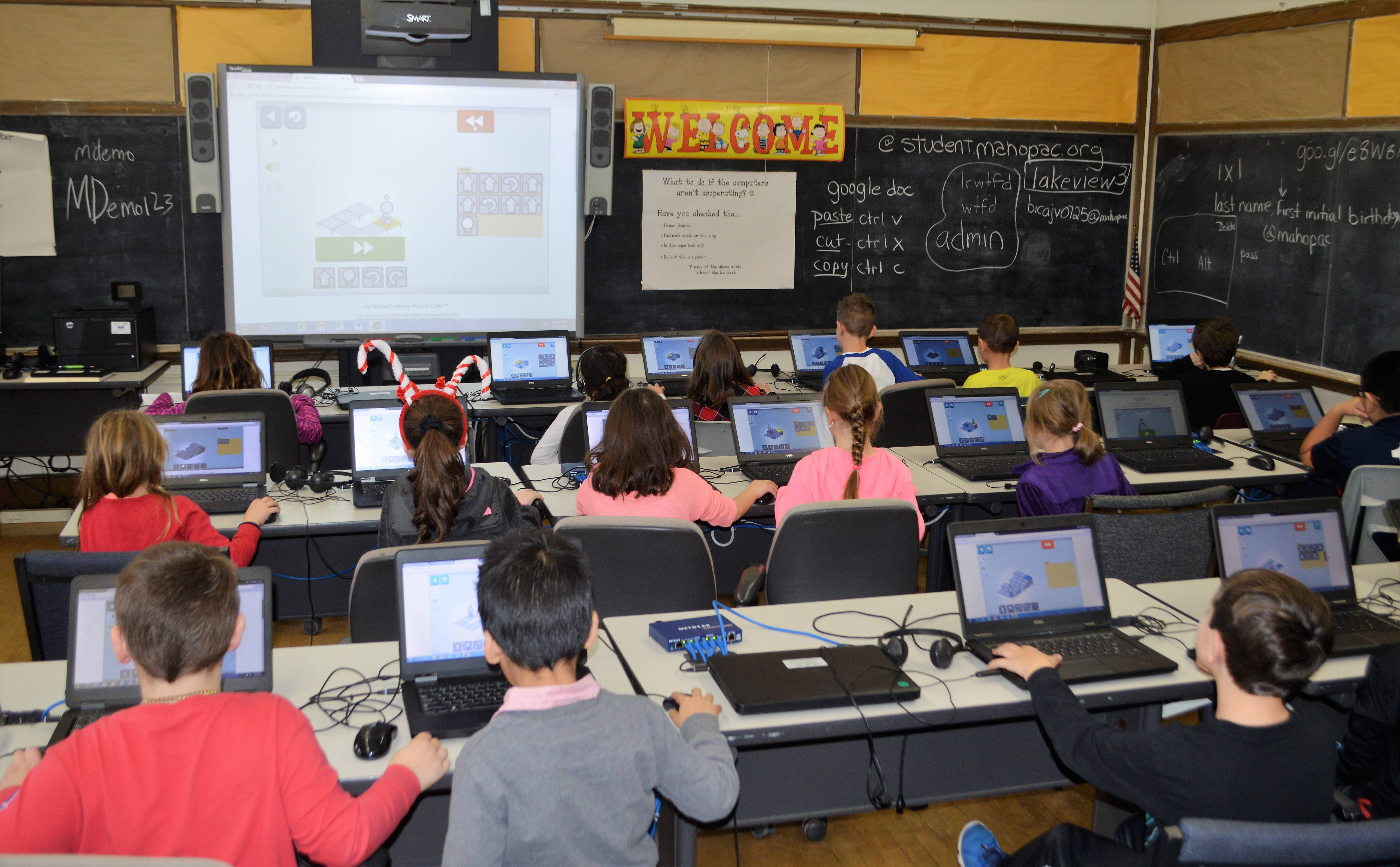 Elementary Classrooms Of The Future ~ Mahopac students prepare for a digital future ny