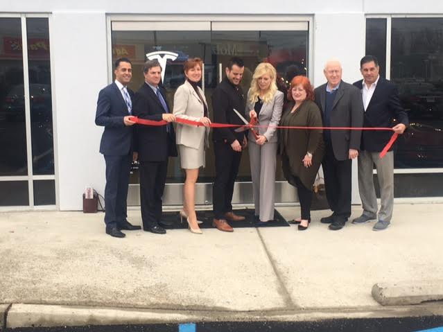 tesla officially opens its doors in springfield with a ribbon cutting tapinto tapinto
