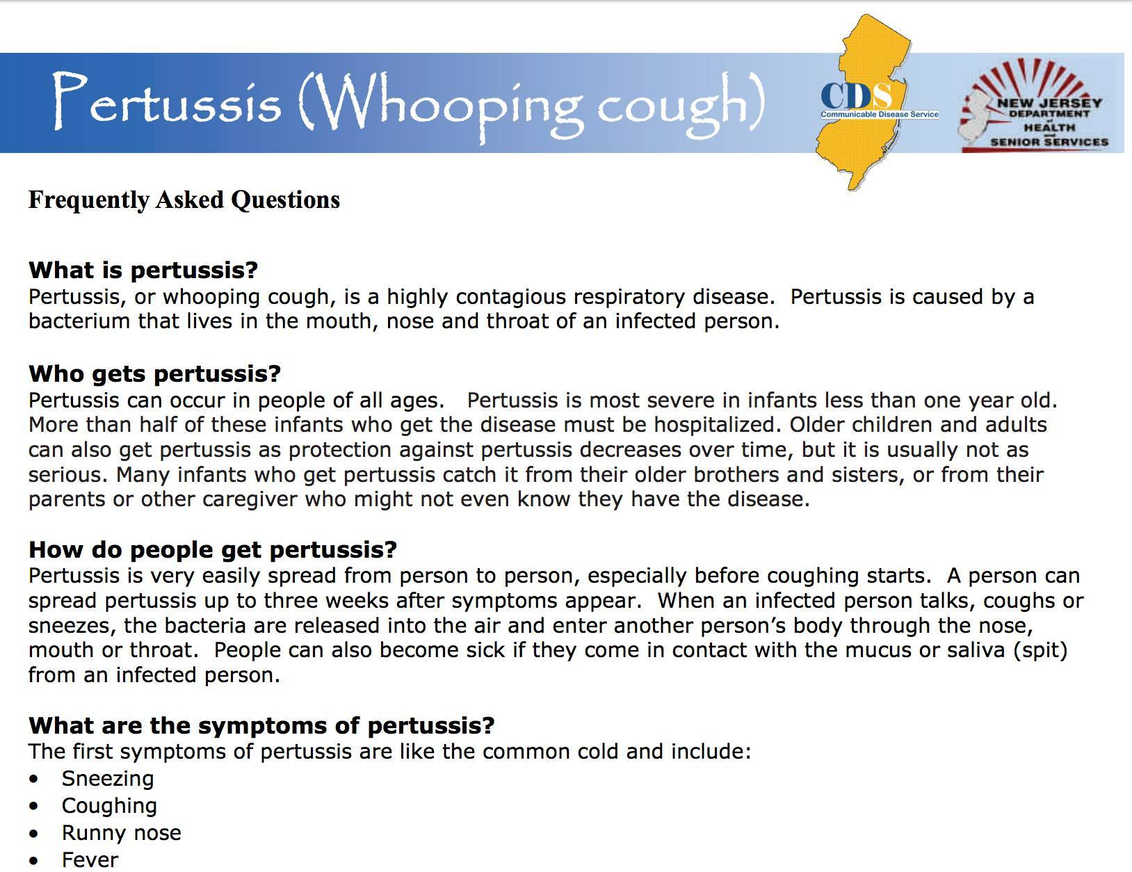 pertussis whooping cough essay Free essay: whooping cough pertussis/whooping cough mary beth gibson ashford university august 27, 2012 instructor kristin akerele what is pertussis what.