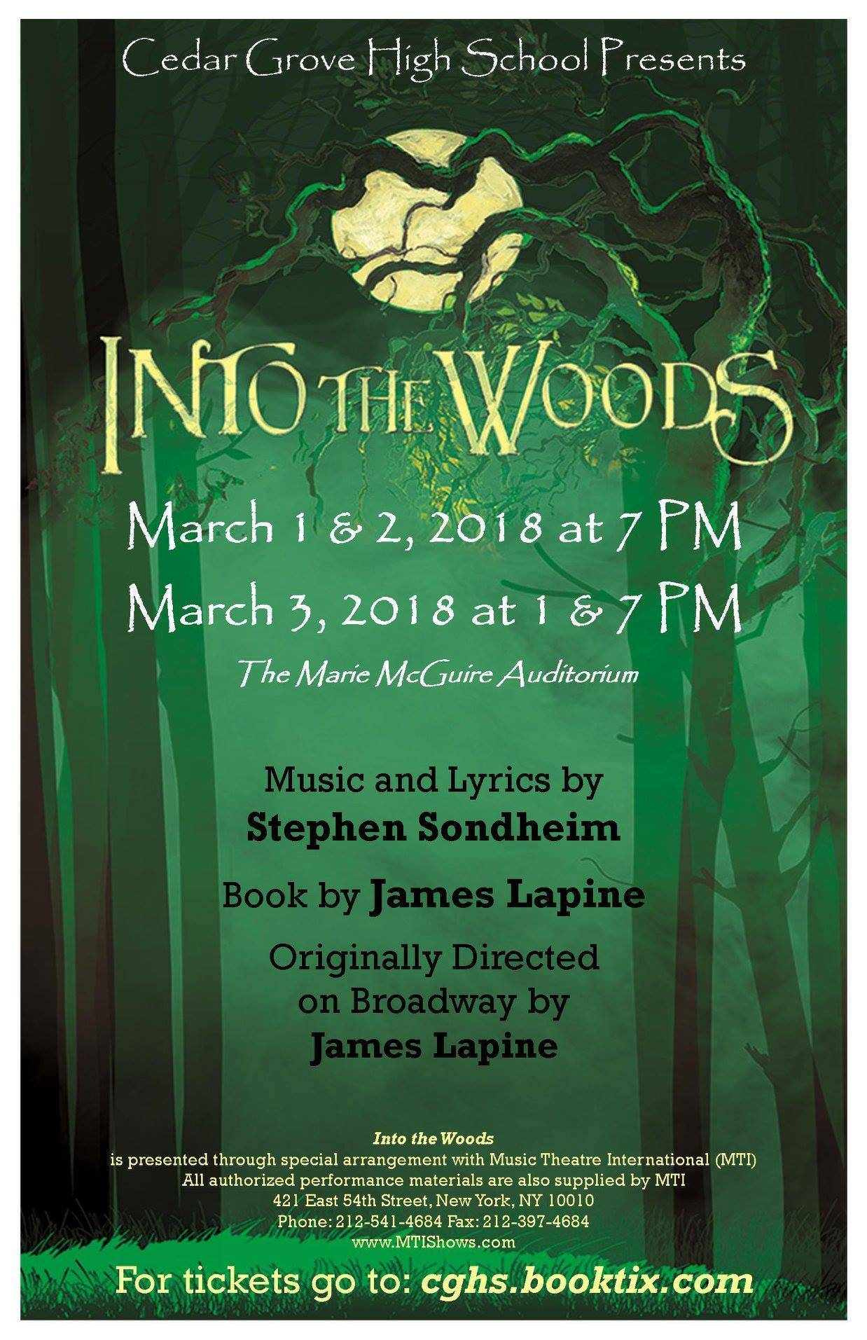 Into the woods cghs spring musical tapinto intowoodsg stopboris Image collections