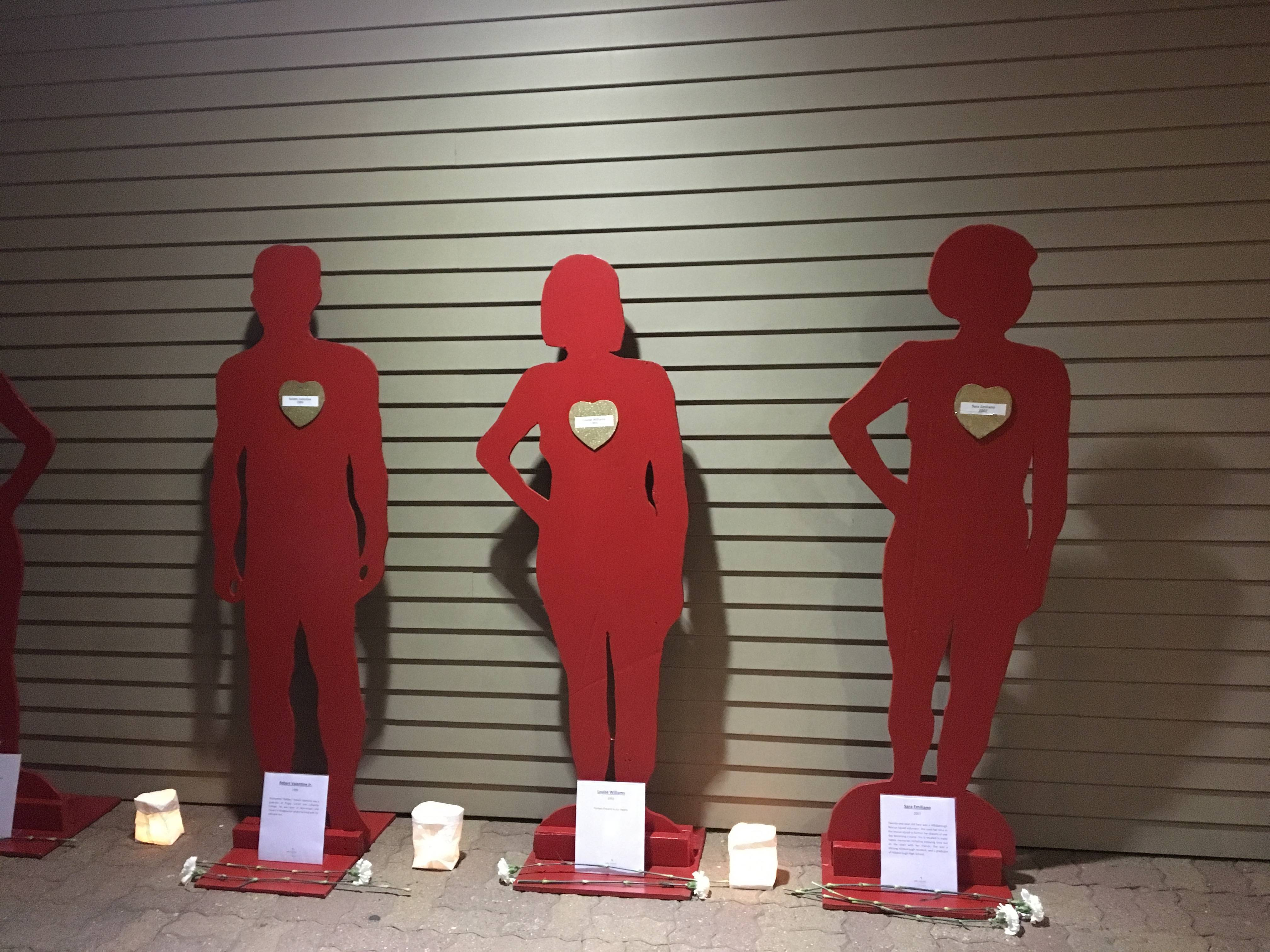 Domestic violence victims remembered during vigil