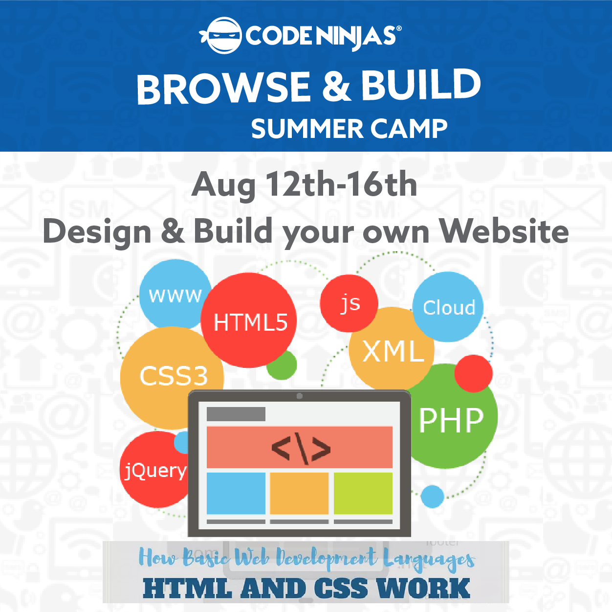 Kids Learn Website Design Development Tapinto