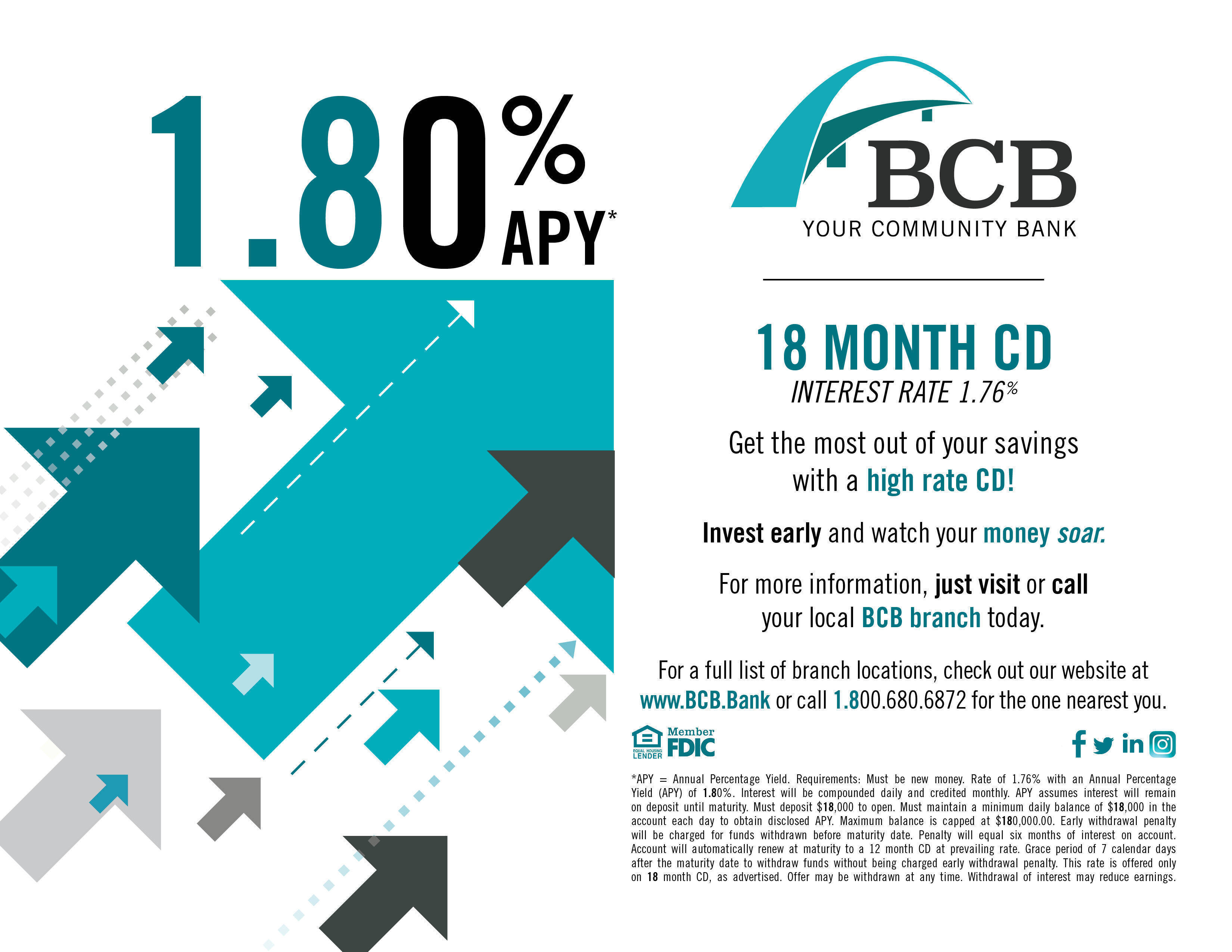 Check Out Bcb Community Banks High Rate Cds Tapinto