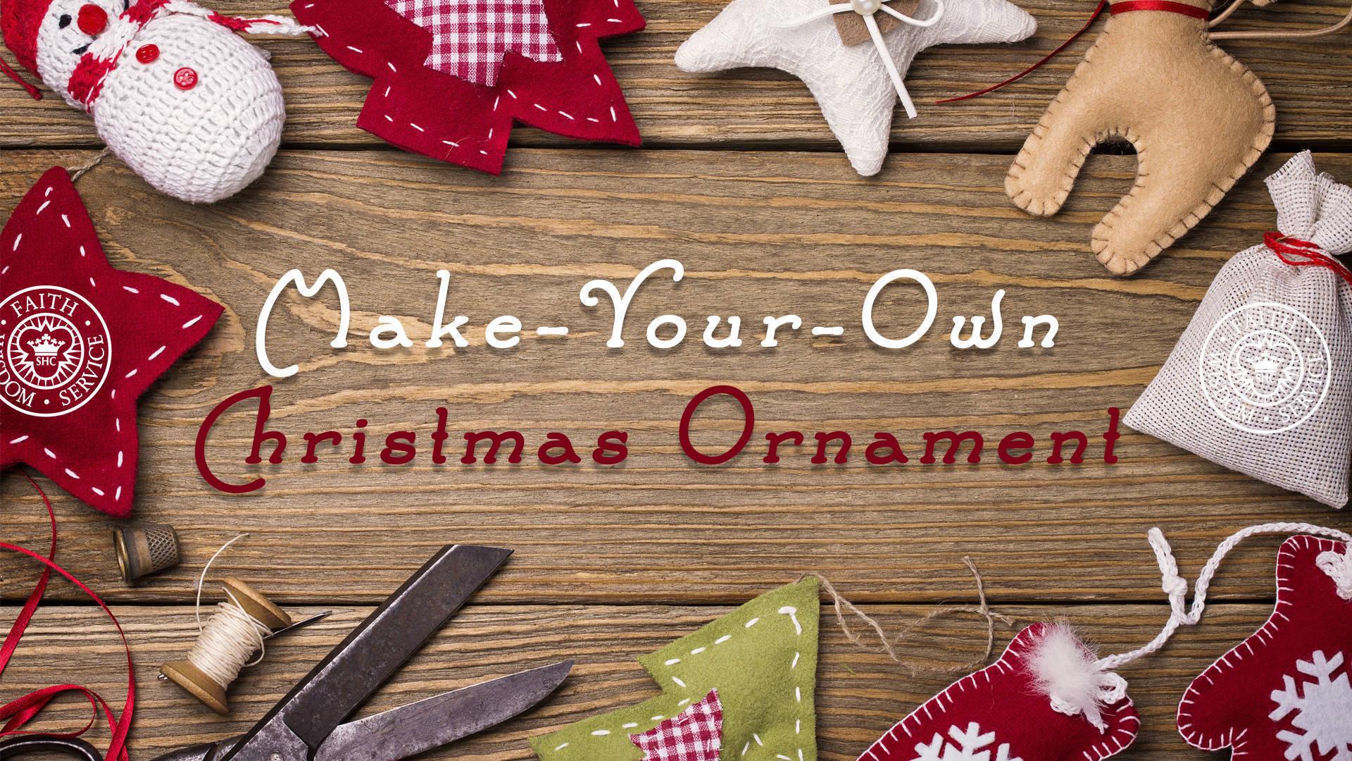 Make-Your-Own Christmas Ornament   TAPinto