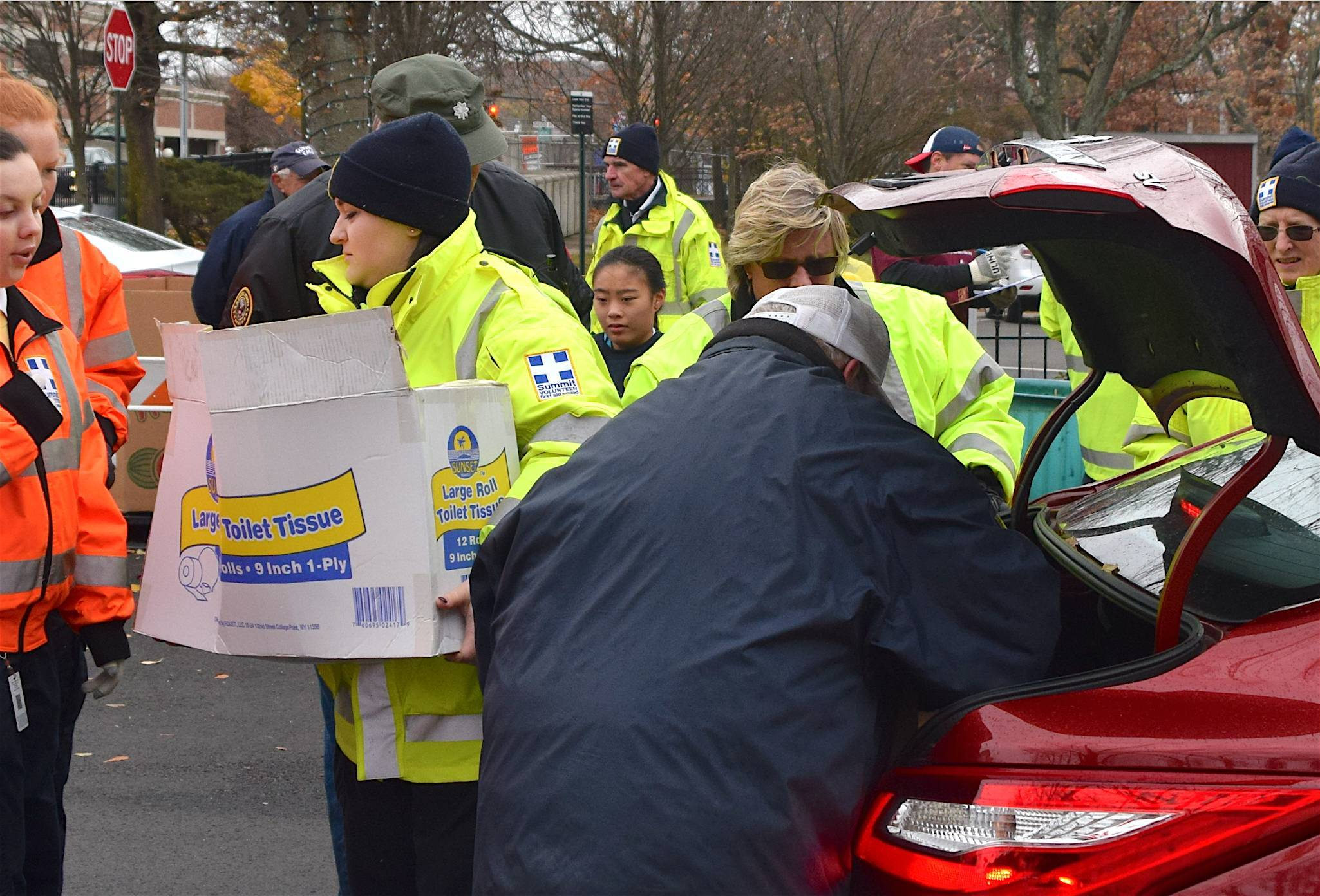 Thanks For Giving: Weather Can't Dampen the Generosity of Summit's Residents as Frozen Turkey Drive Sees Increase in Donations