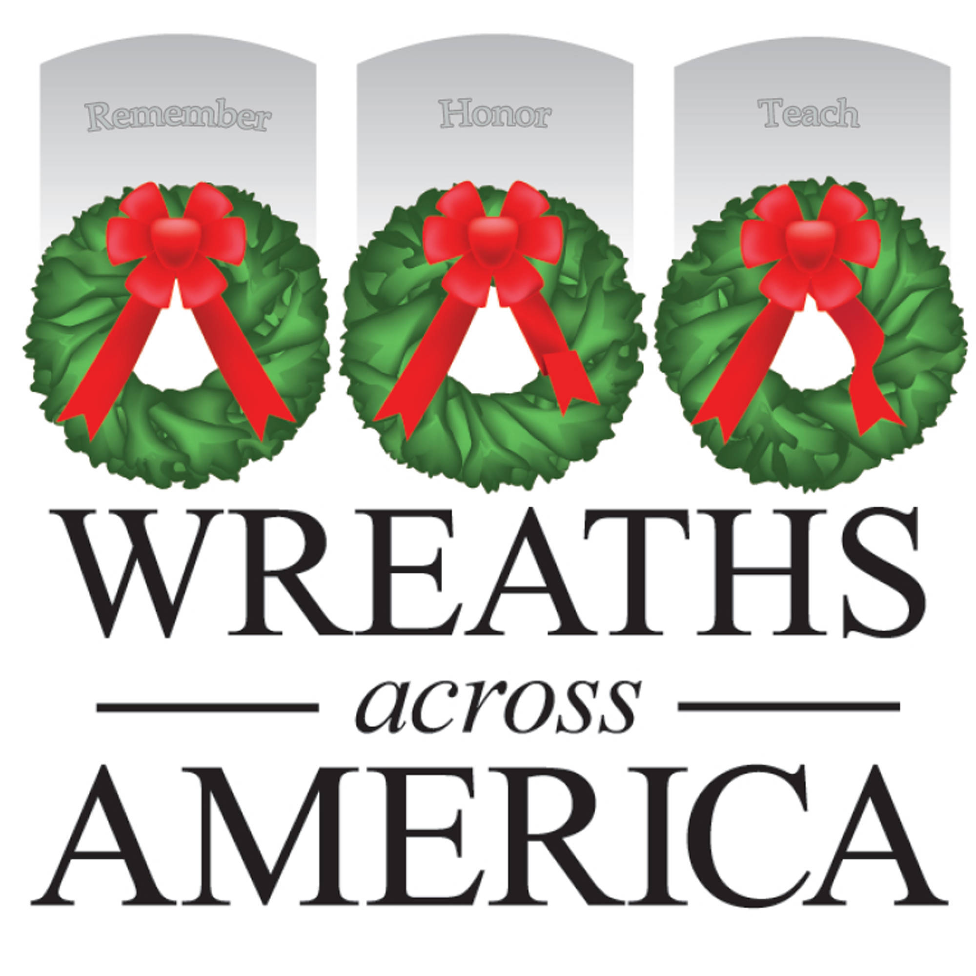 Wreaths Across America in the Stones River National Cemetery in Murfreesboro