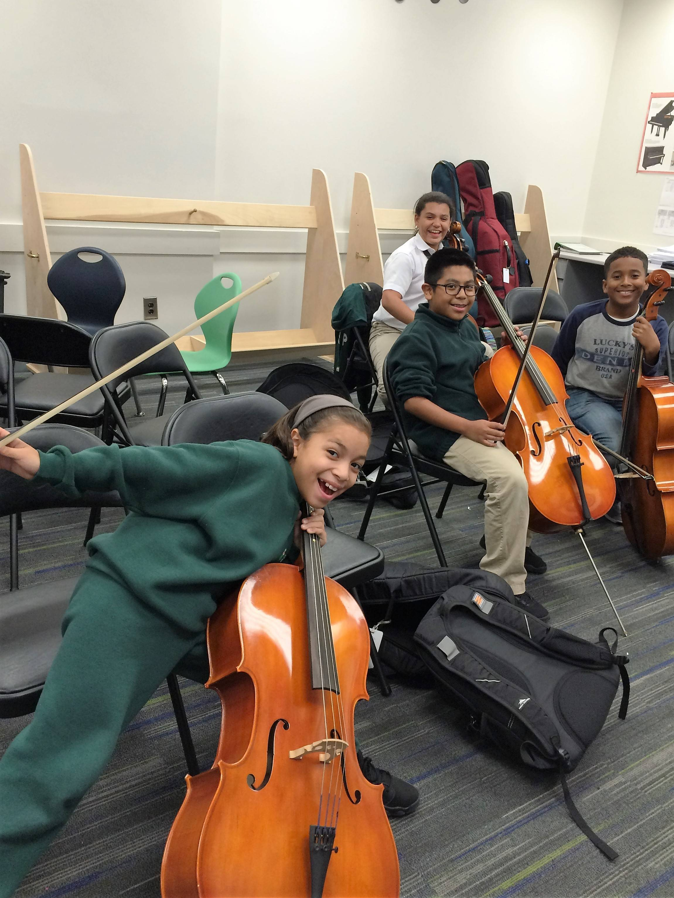 New Providence High School Senior Builds Cello Racks for Paterson Music Project; Earns Eagle Scout Rank