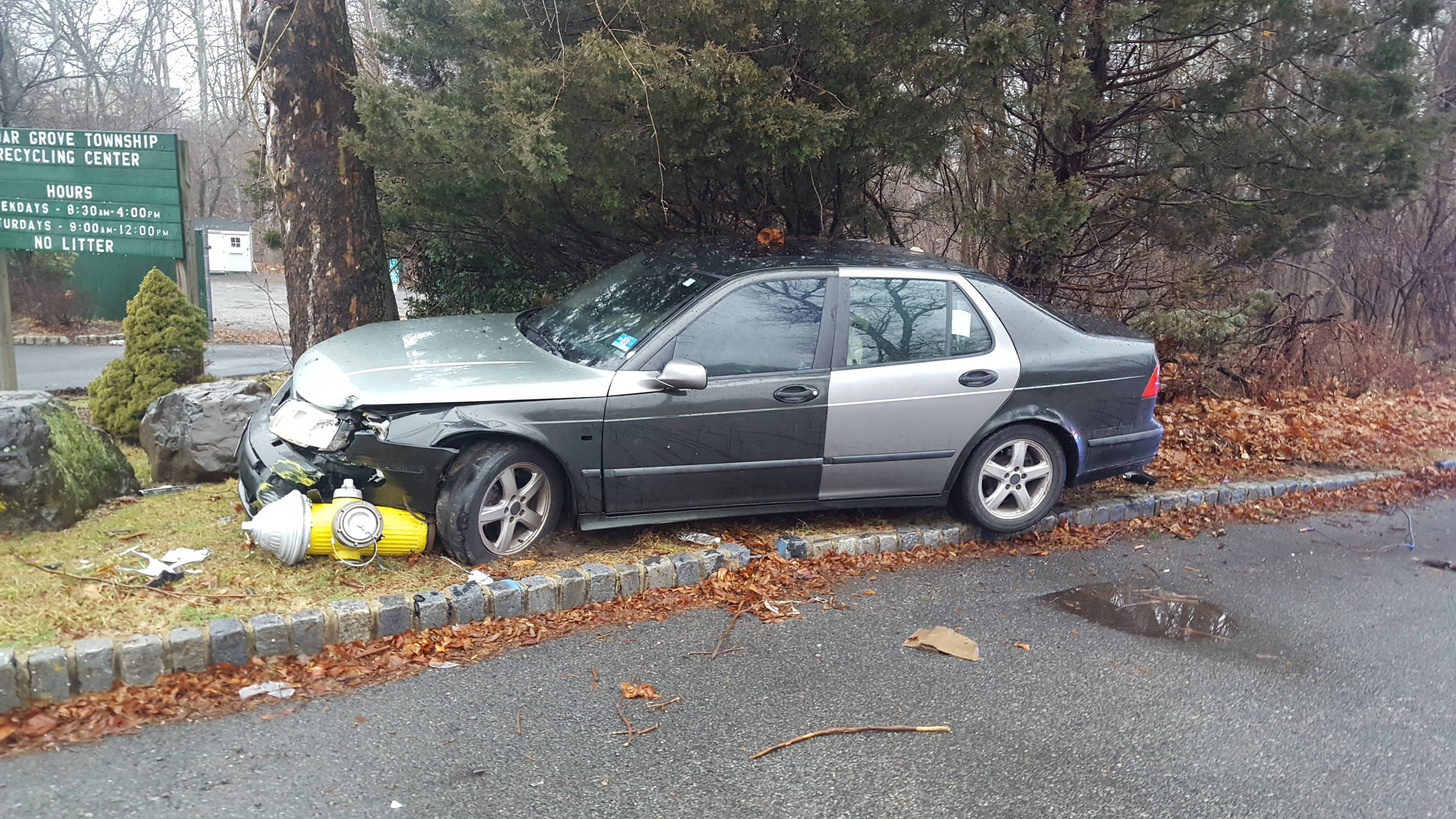 police chase ends in car crash in cedar grove verona cedar grove