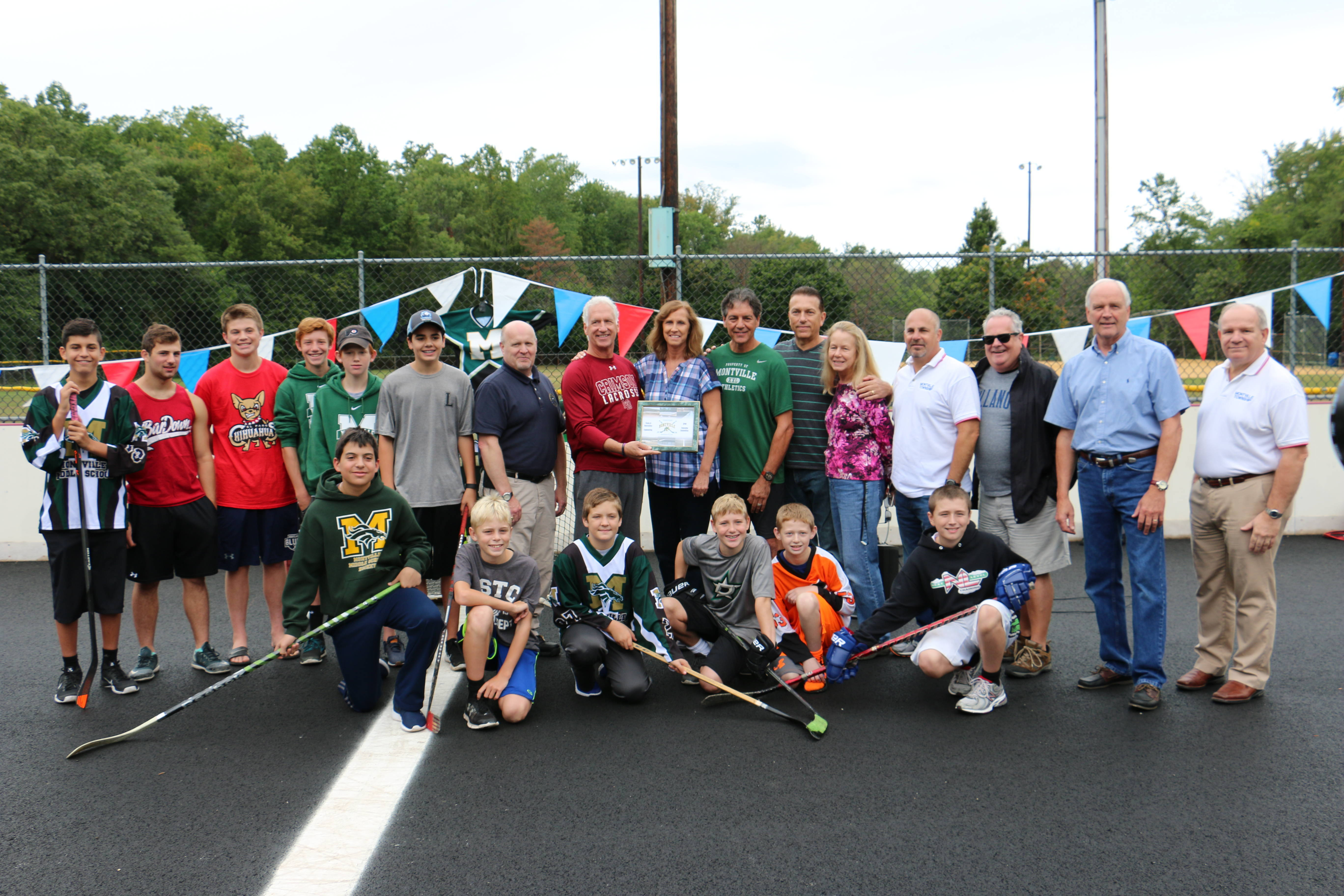 Roller skating rink kendall park nj - Official Opening Of Montville Township S New Roller And Street Hockey Rink Located At Masar Park Credits Hope White