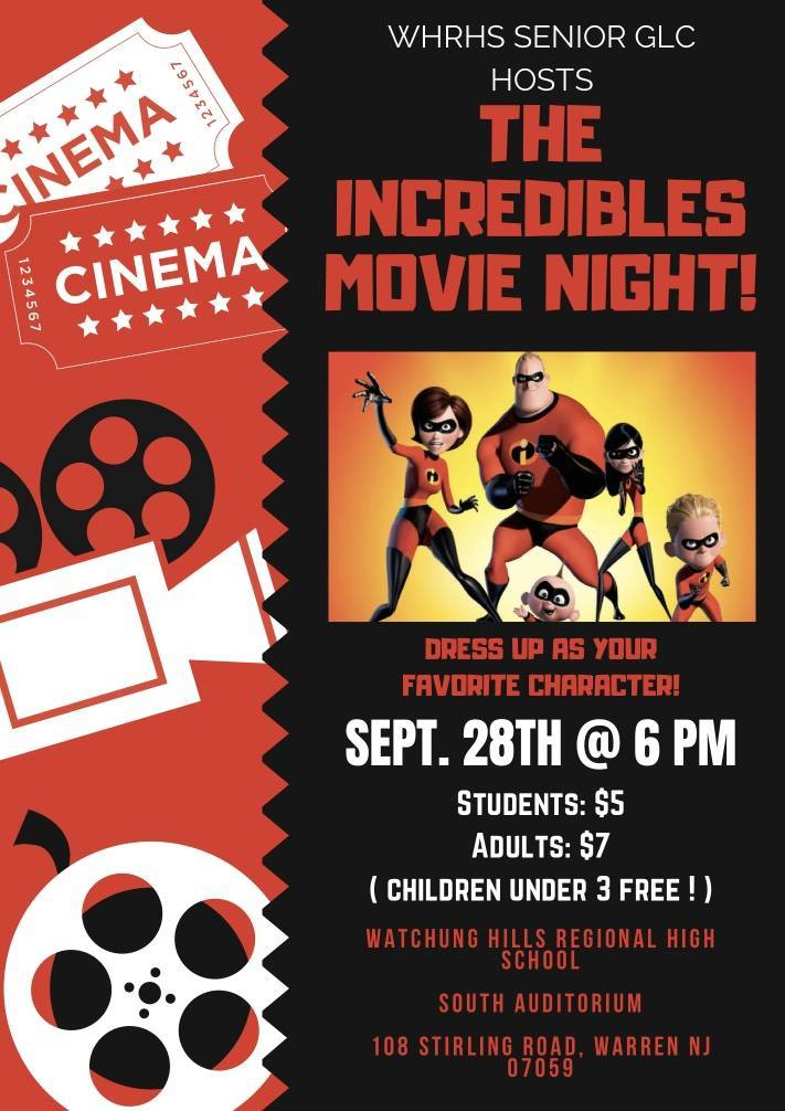 Incredibles Movie Night | TAPinto