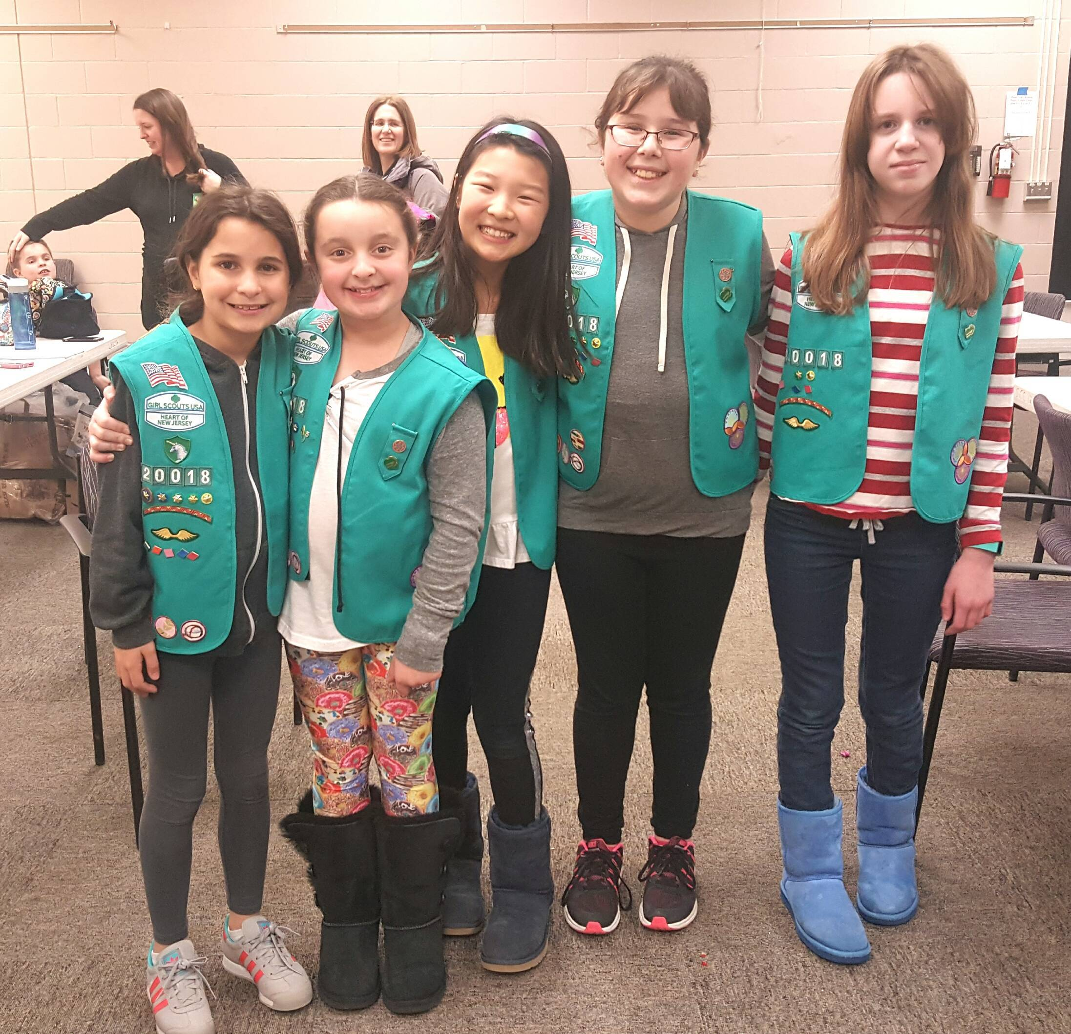 Livingston Girl Scouts Participate In MLK Day Of Service Credits: Danielle  Santola