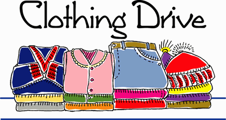 Image result for clothing drive clip art